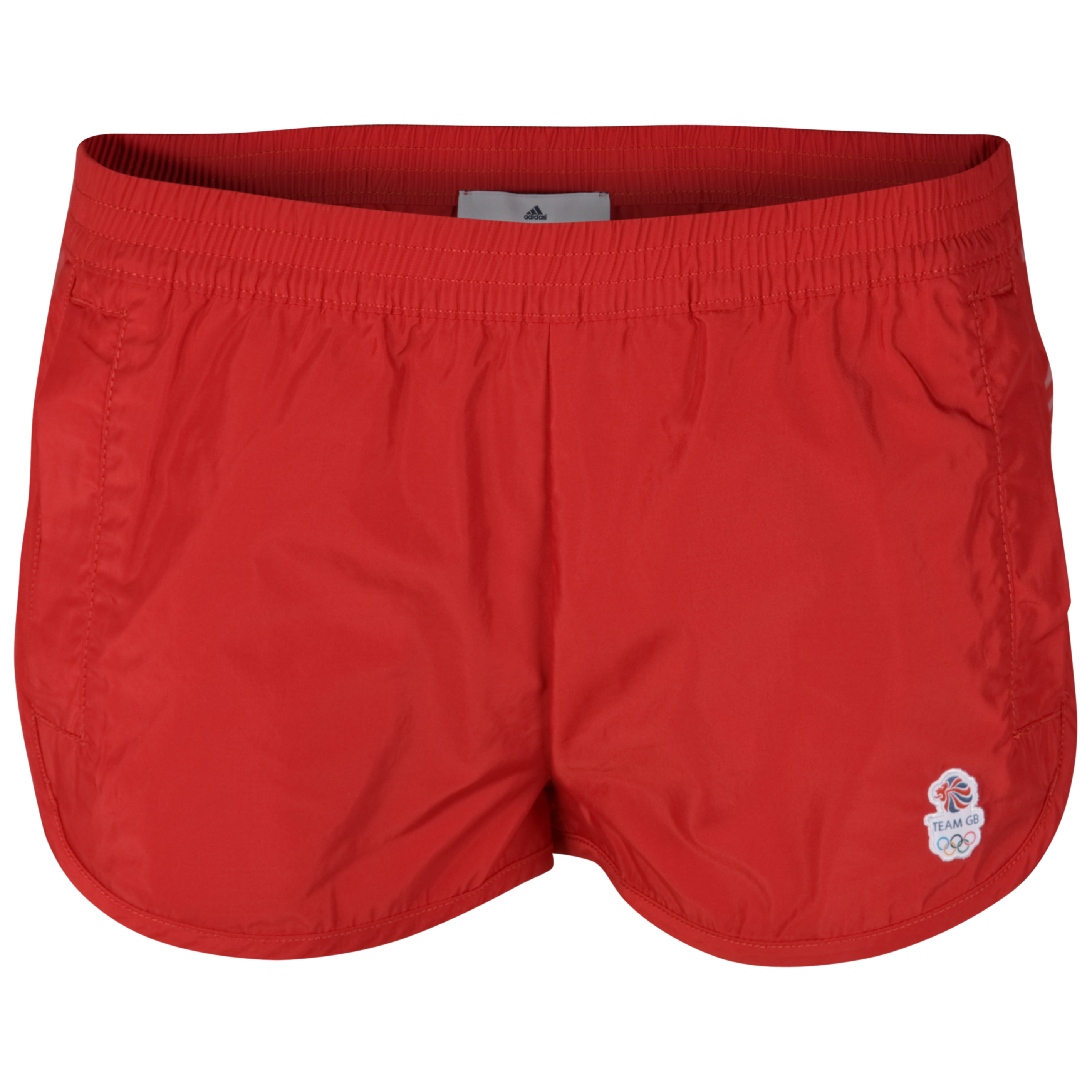 adidas Team GB Emblem Short - Scarlet - Womens