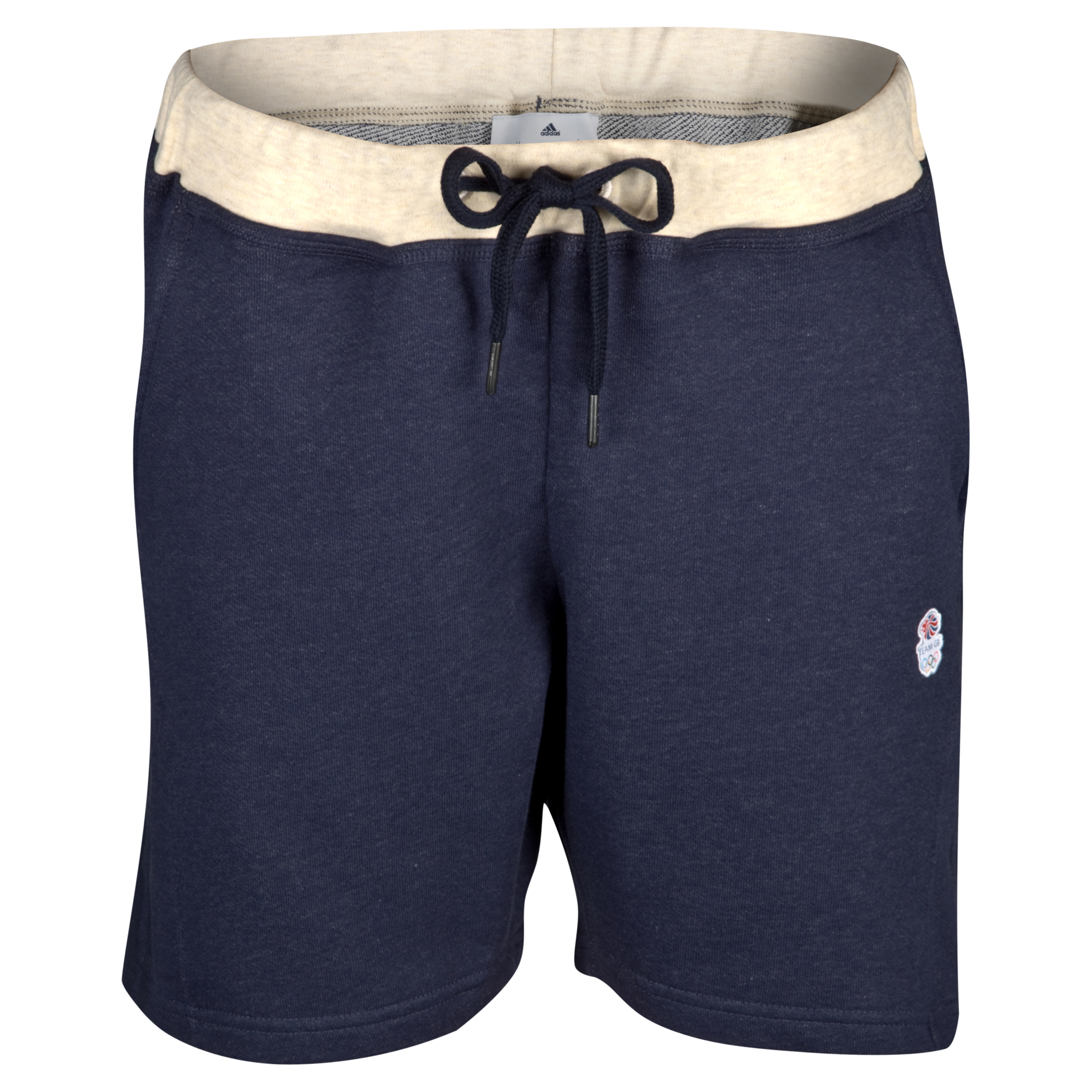 adidas Team GB Emblem Short - Yacht Melange