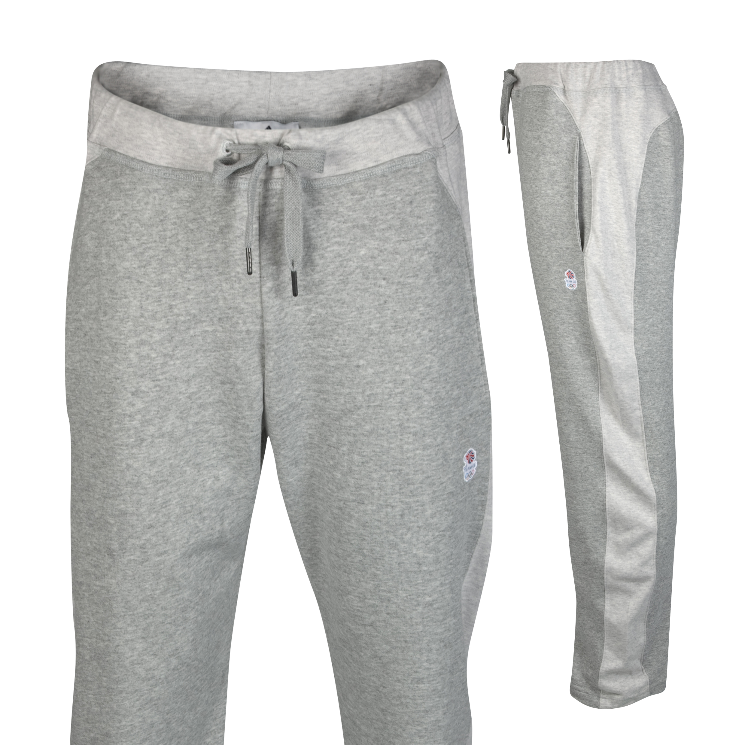 adidas Team GB Emblem Pant - Medium Grey Heather