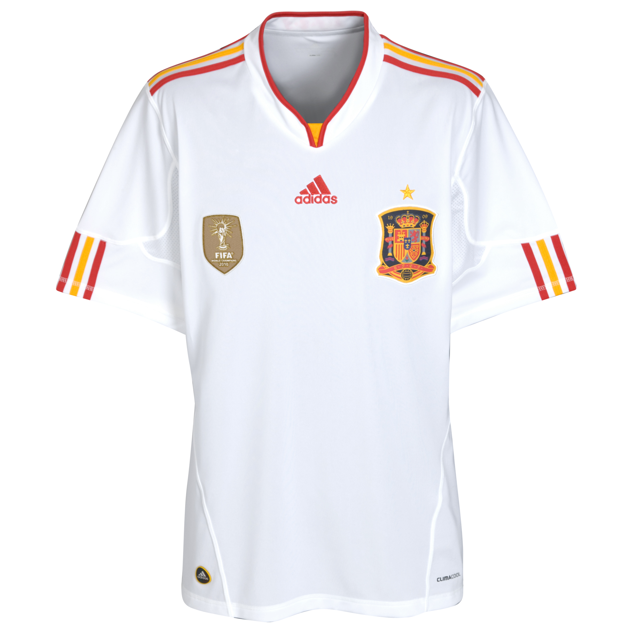 Spain Away Shirt 2011