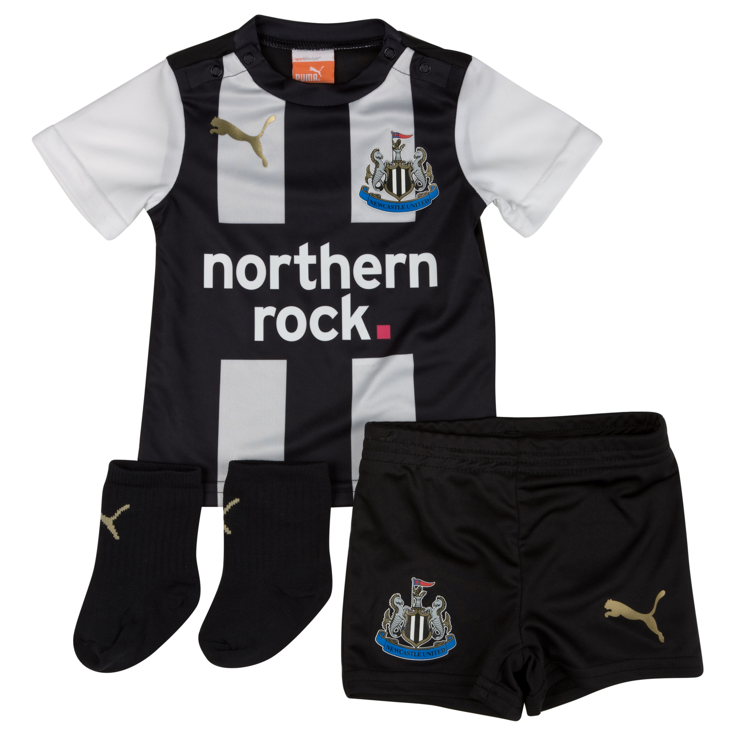 Newcastle United Home Baby Kit 2011/12 - Baby