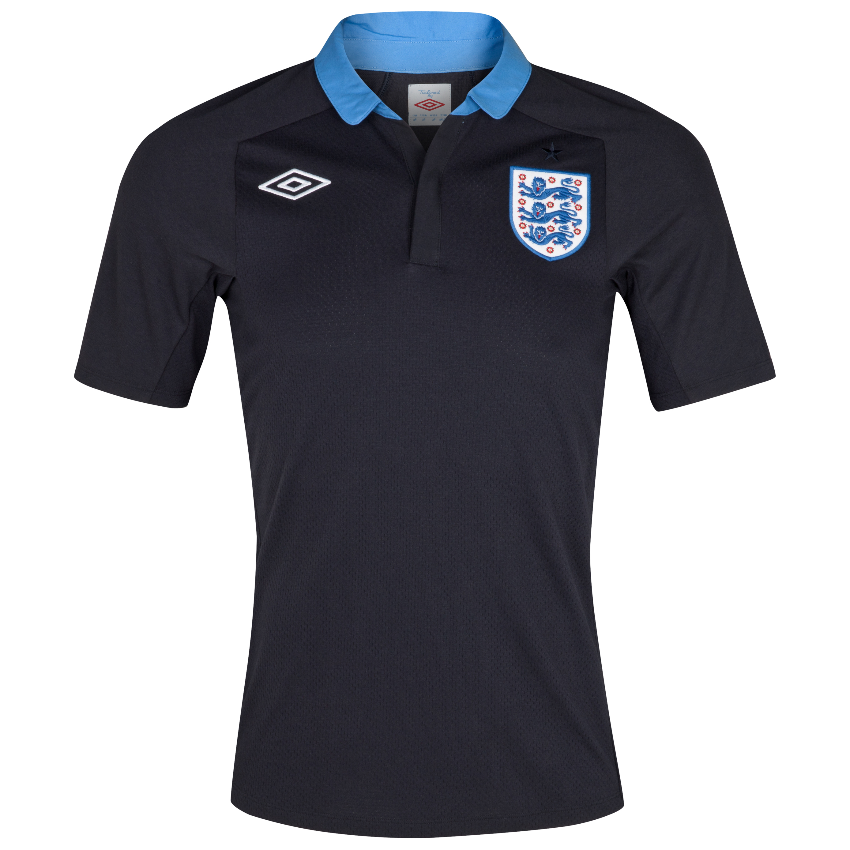 England Away Shirt 2011/12 Including England v Sweden Insignia
