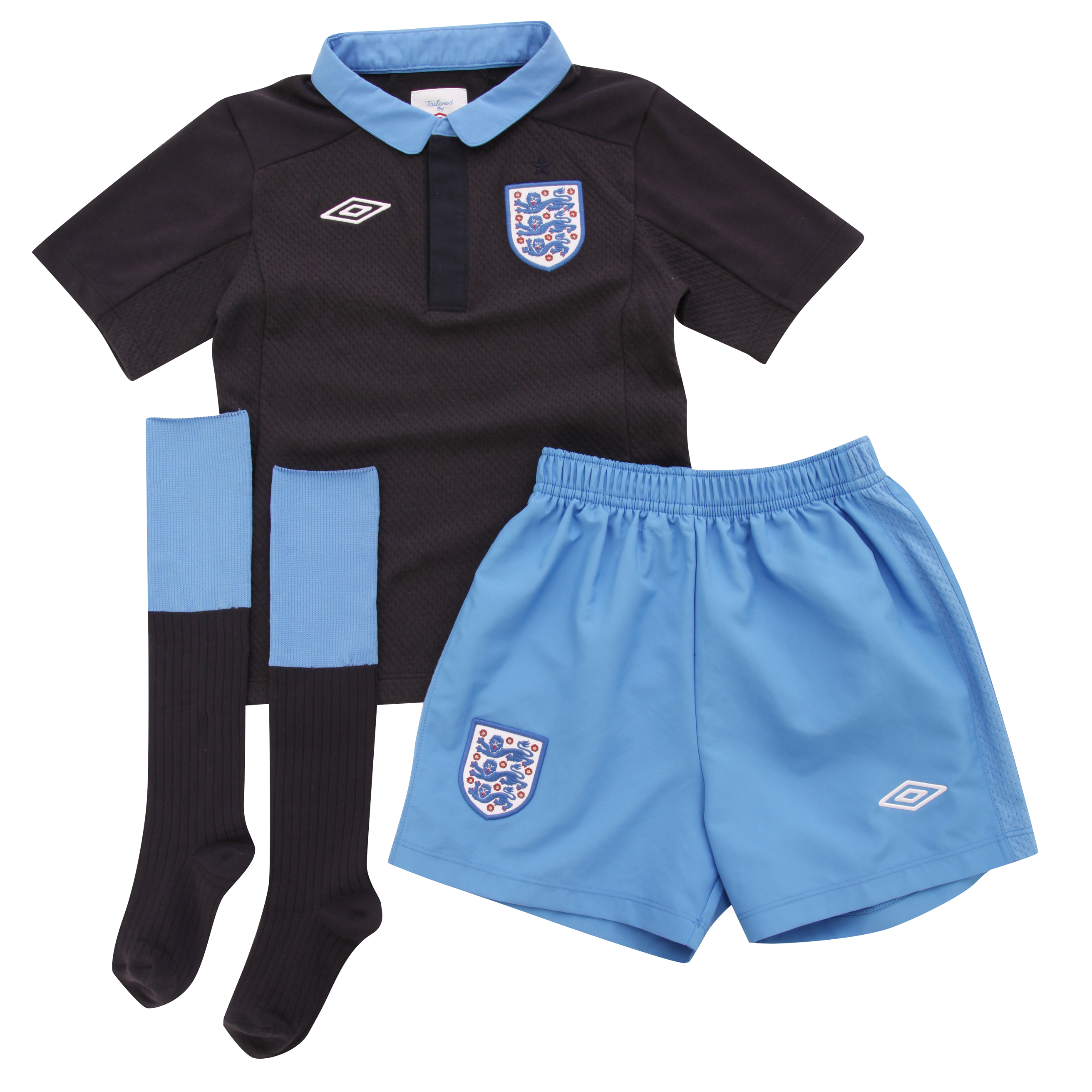 England Away Infant Kit 2011/12