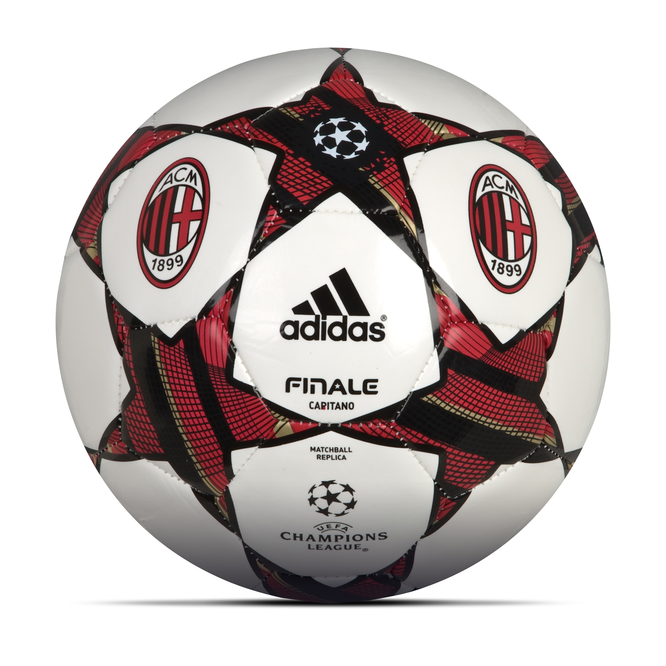 adidas AC Milan Finale 11 Capitano Football - White/Black