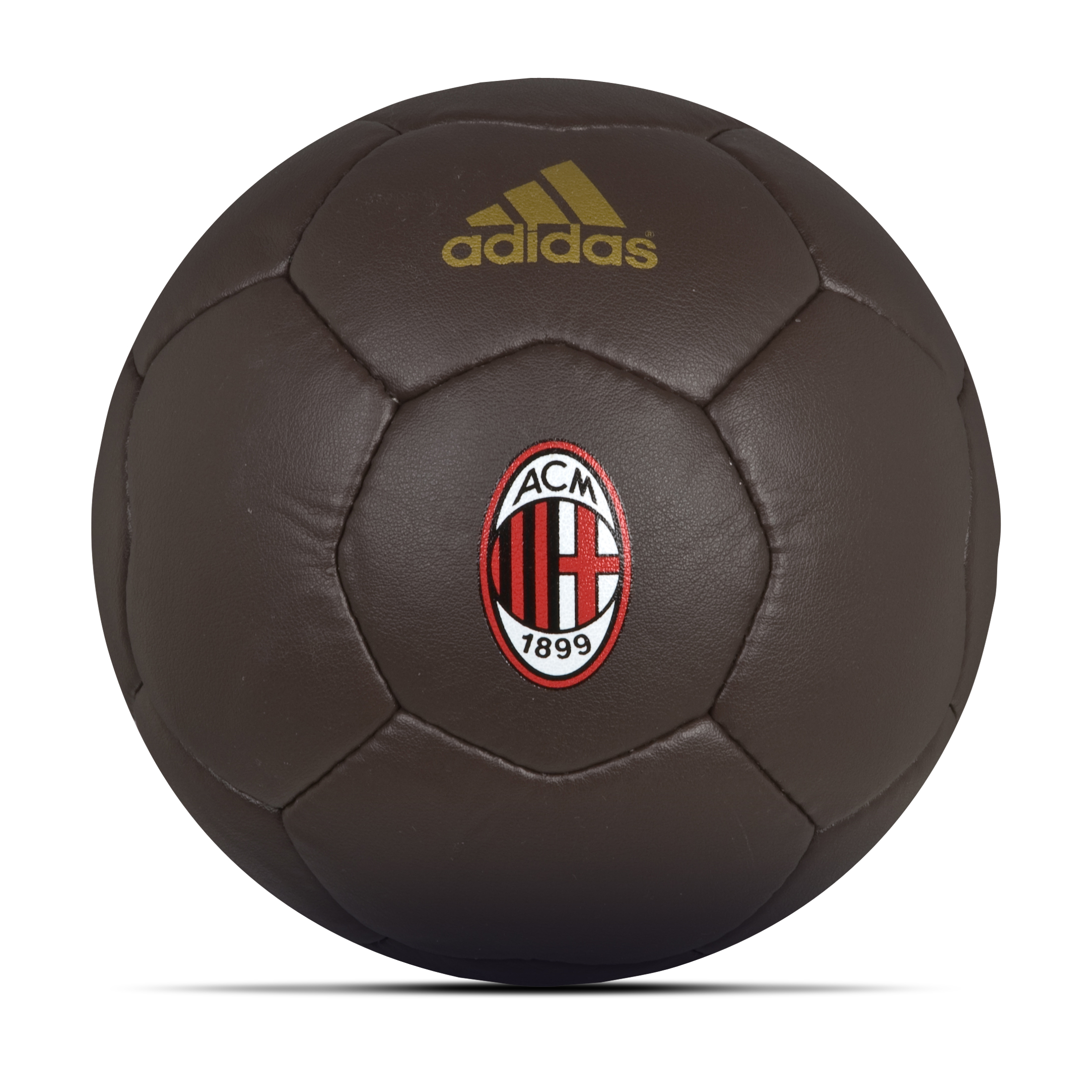adidas AC Milan Crest Football - Leather Look