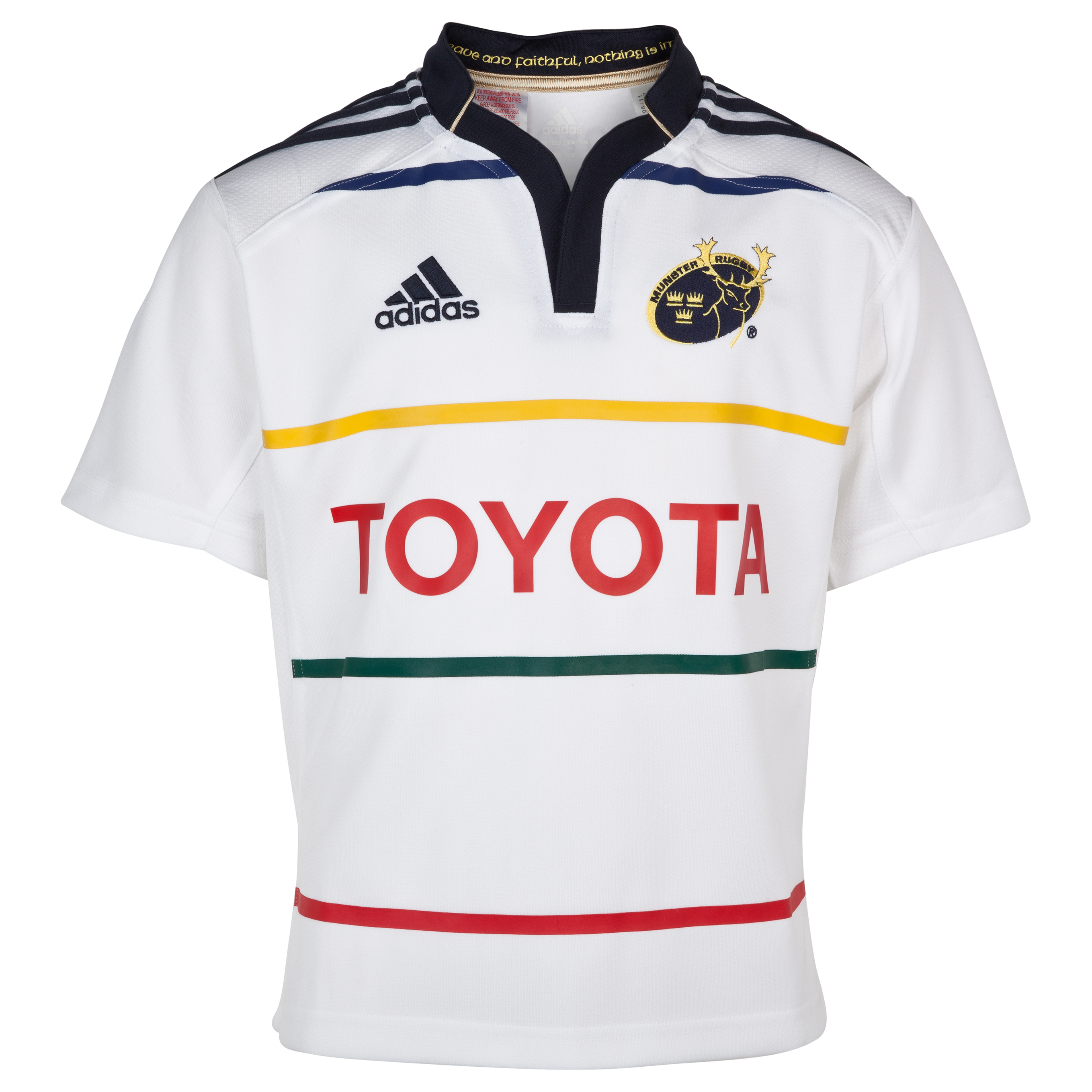 Munster Away Shirt 2011/12 - Kids - White/Dark Navy