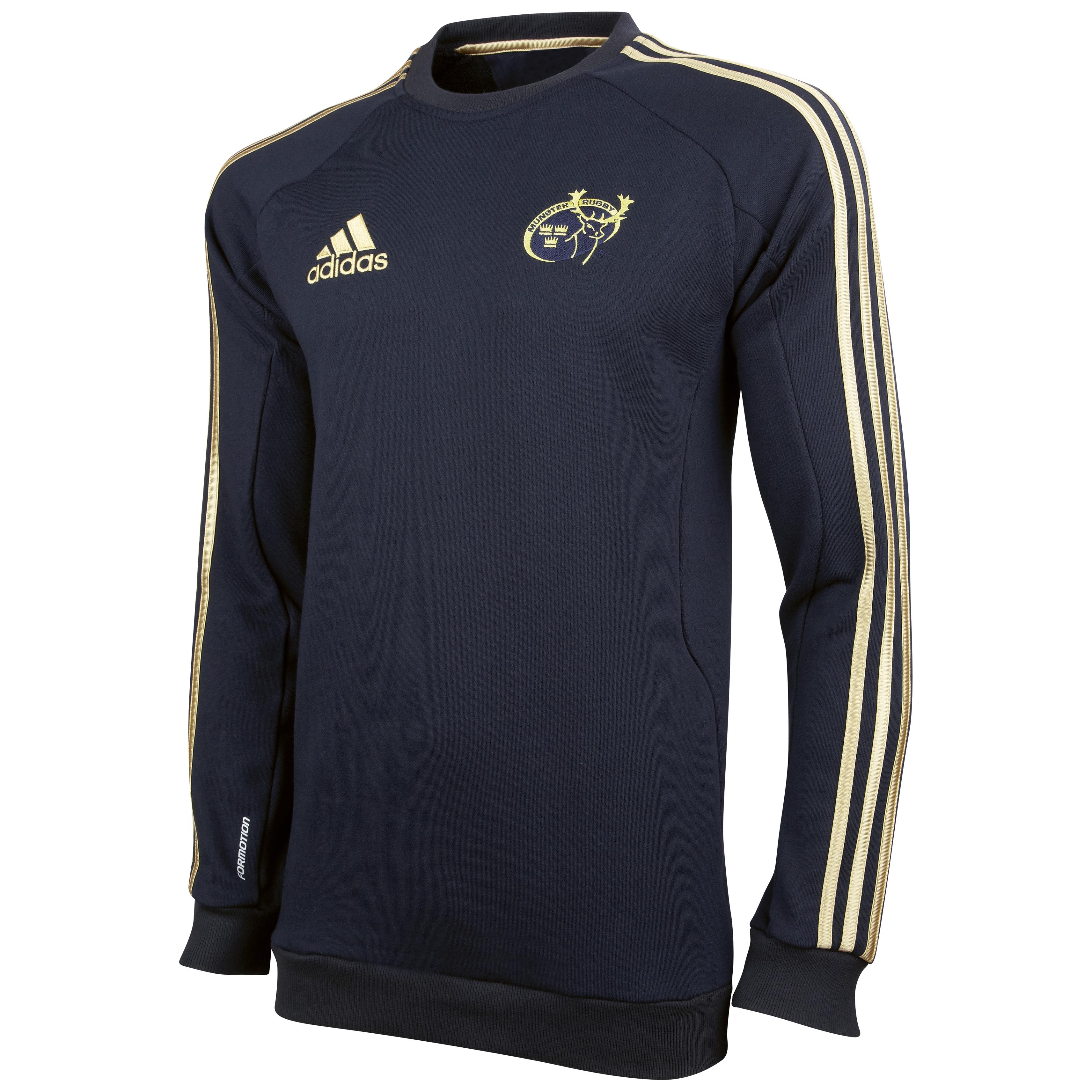 Munster Sweatshirt - Dark Navy/Light Football Gold. for 25€