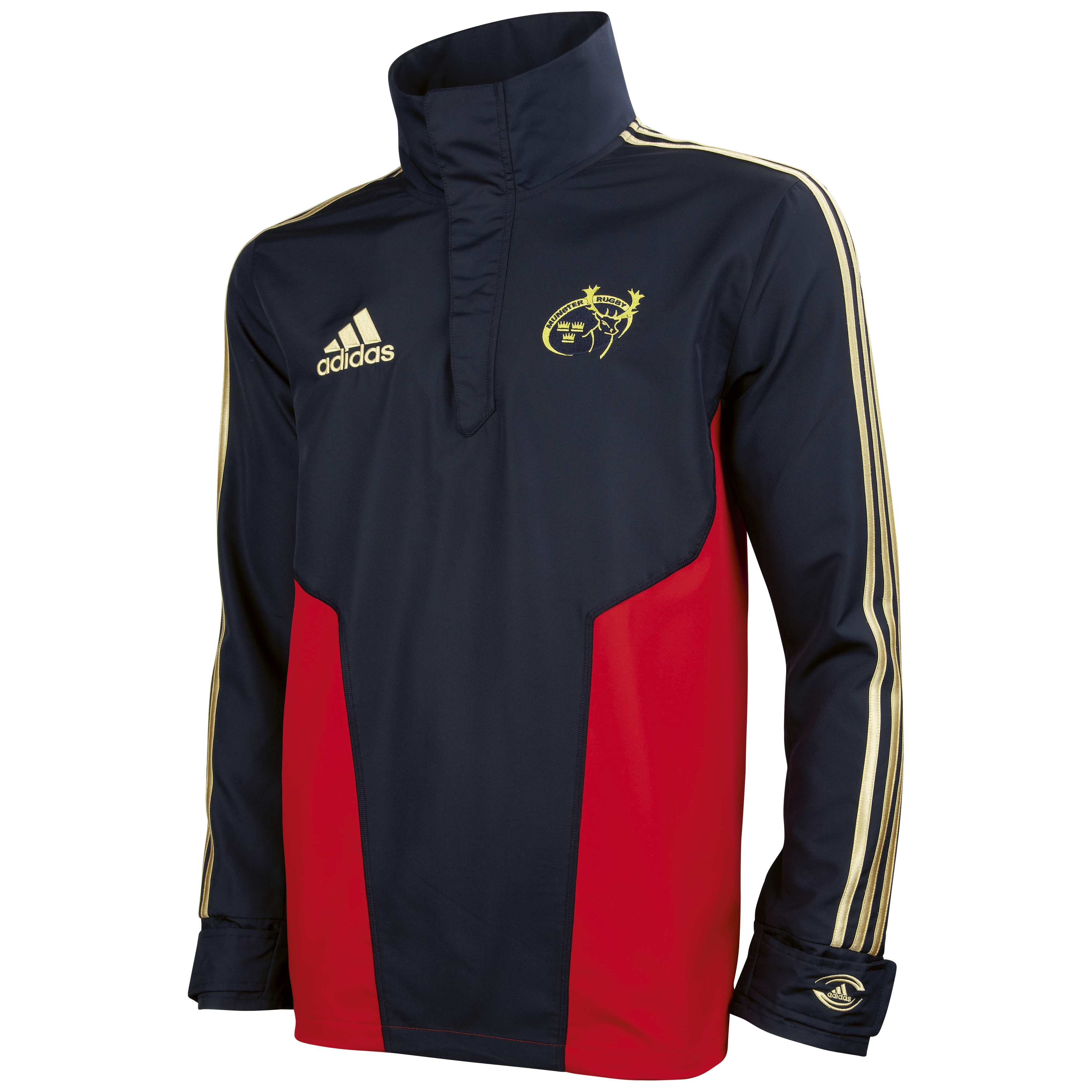 Munster Windbreaker - Dark Navy/Collegiate Red/Light Football Gold