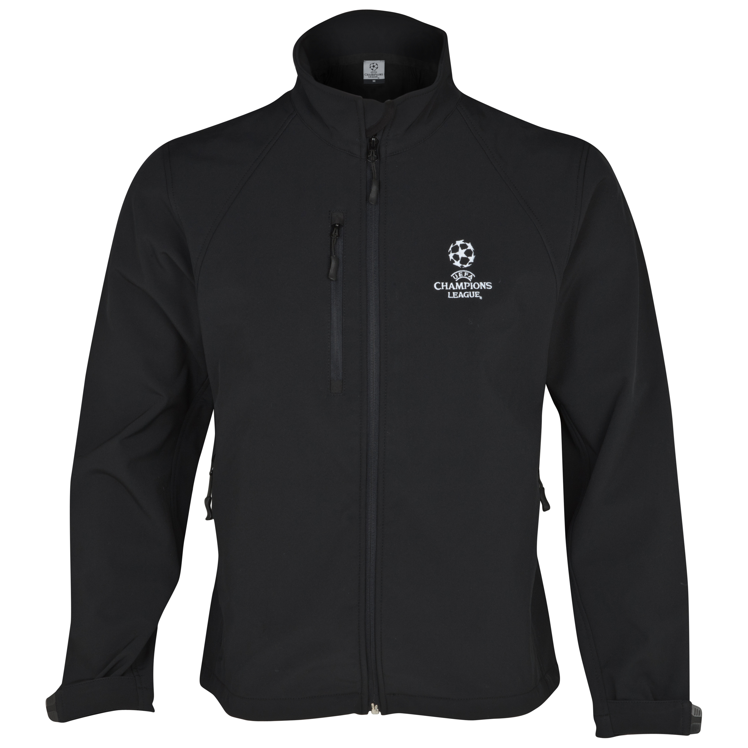 UEFA Champions League Soft Shell Jacket - Black