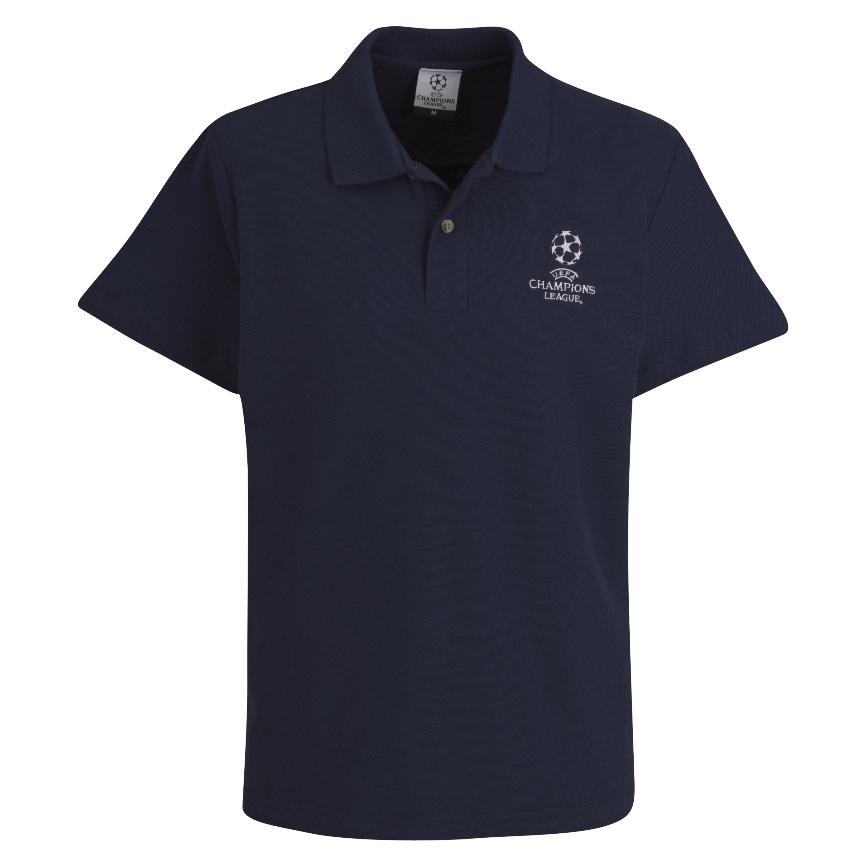 UEFA Champions League Pique Polo - Navy - Kids