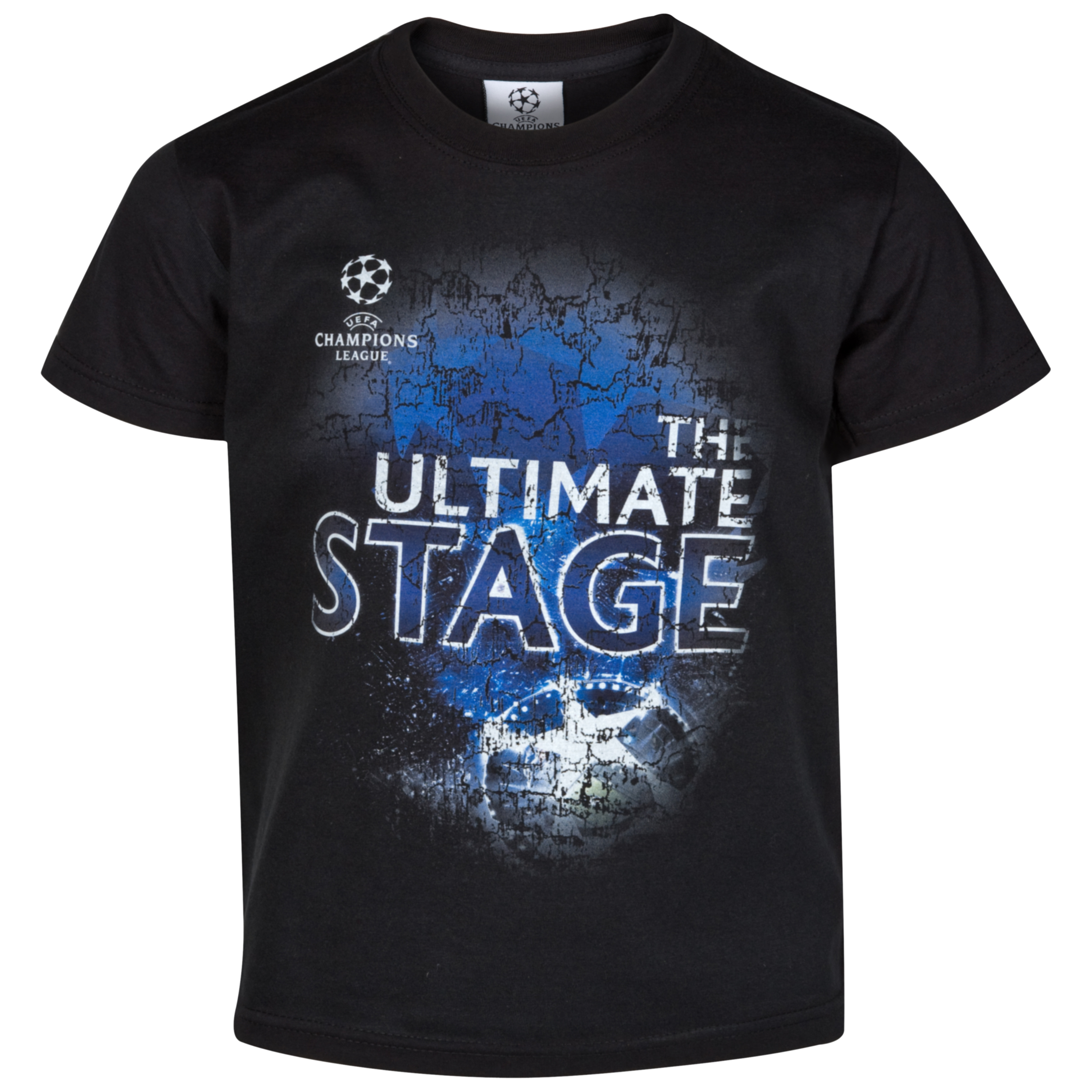 UEFA Champions League T-Shirt - Black - Kids