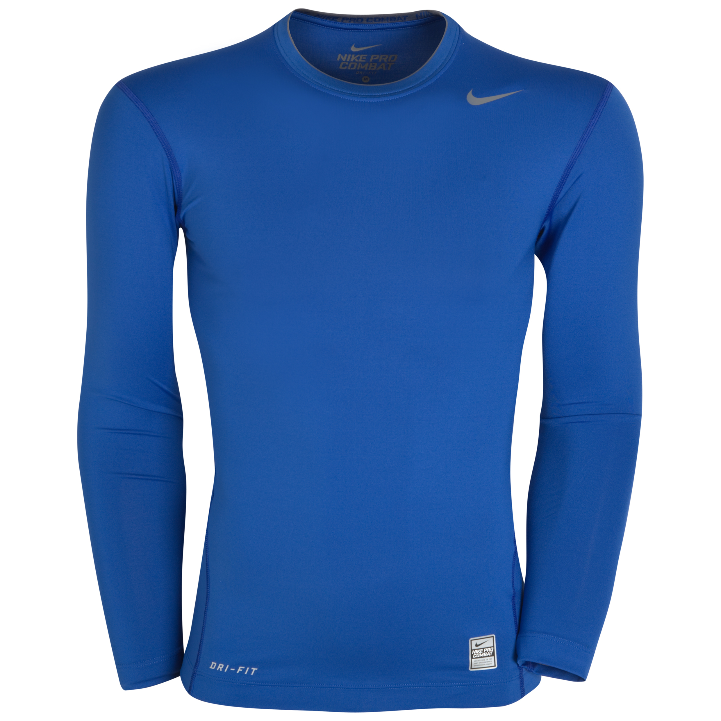 Nike Pro Core Long Sleeve Crew Top - Varsity Royal