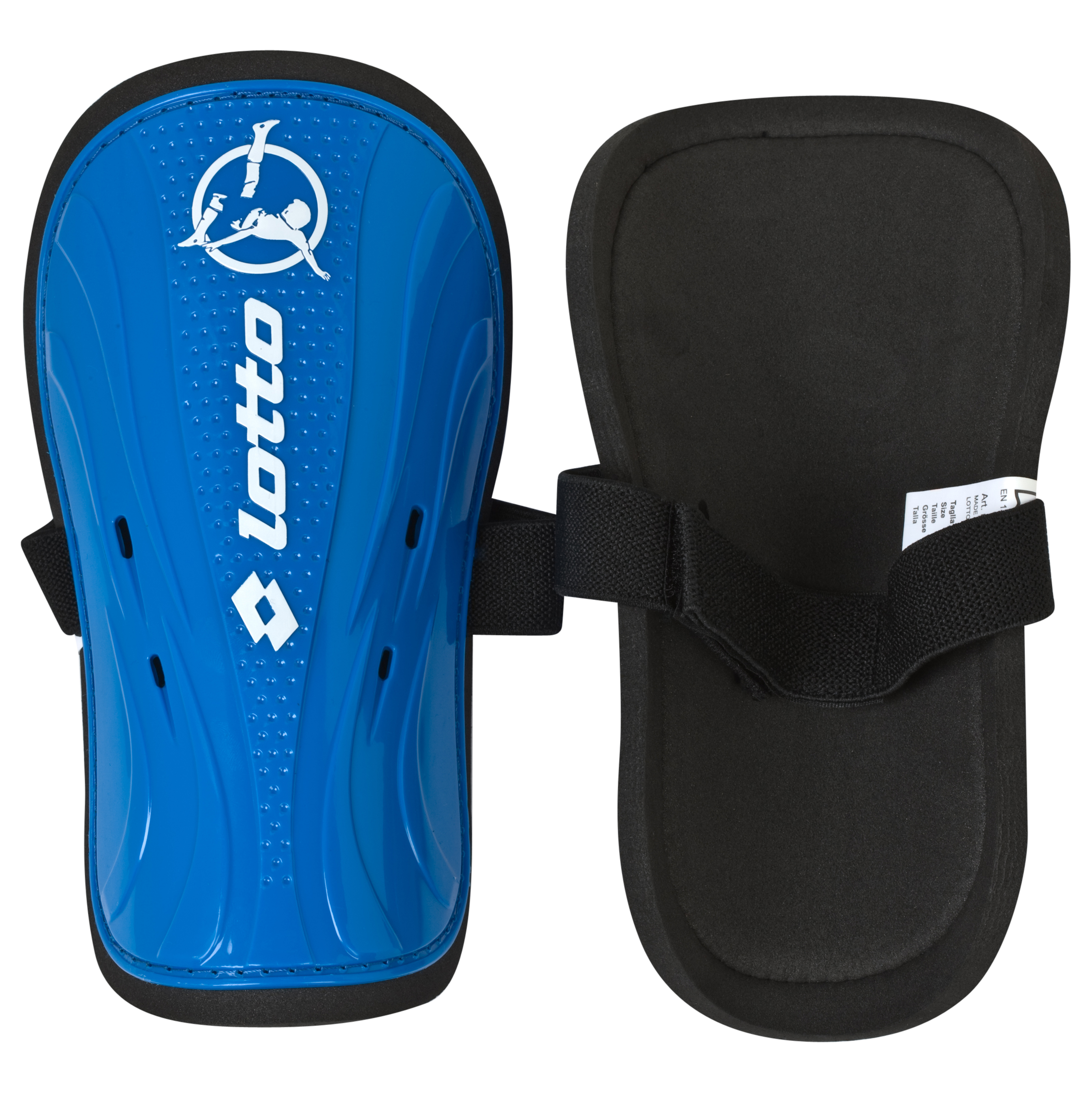 Lotto Protect 700 Shinguard - Large - Blue Aster/White