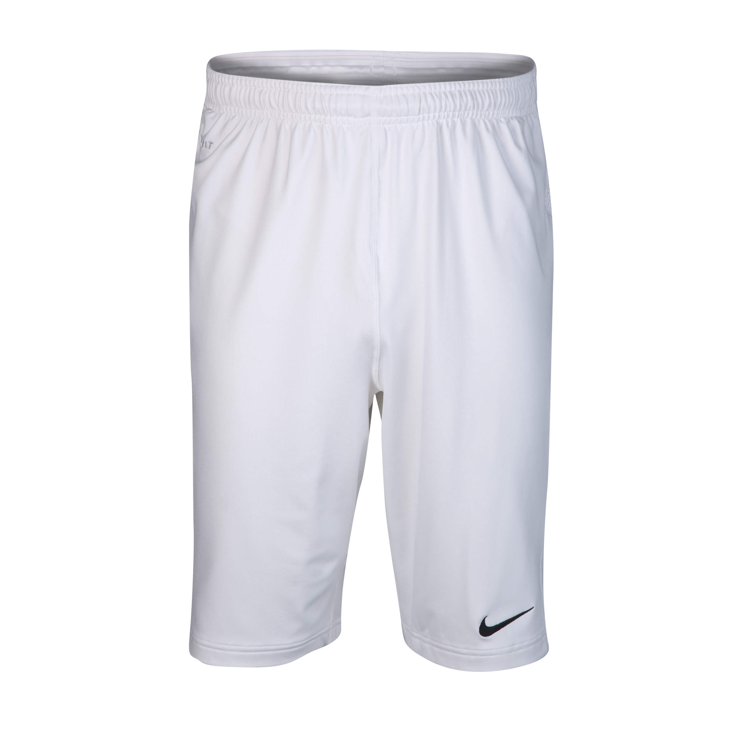 Nike Elite Long Woven Short - White/Black