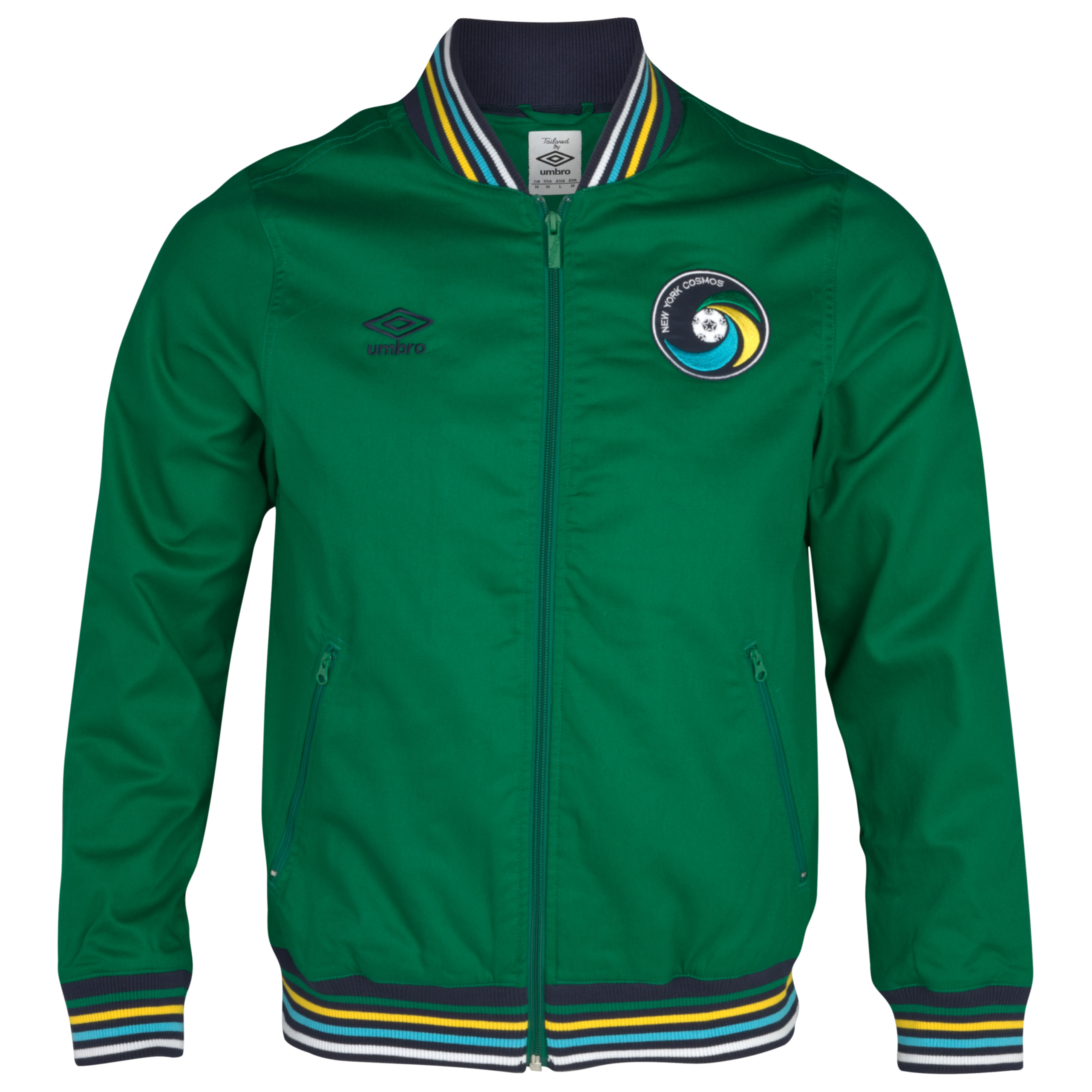New York Cosmos Ramsay Jacket - Pine Green/Dark Navy