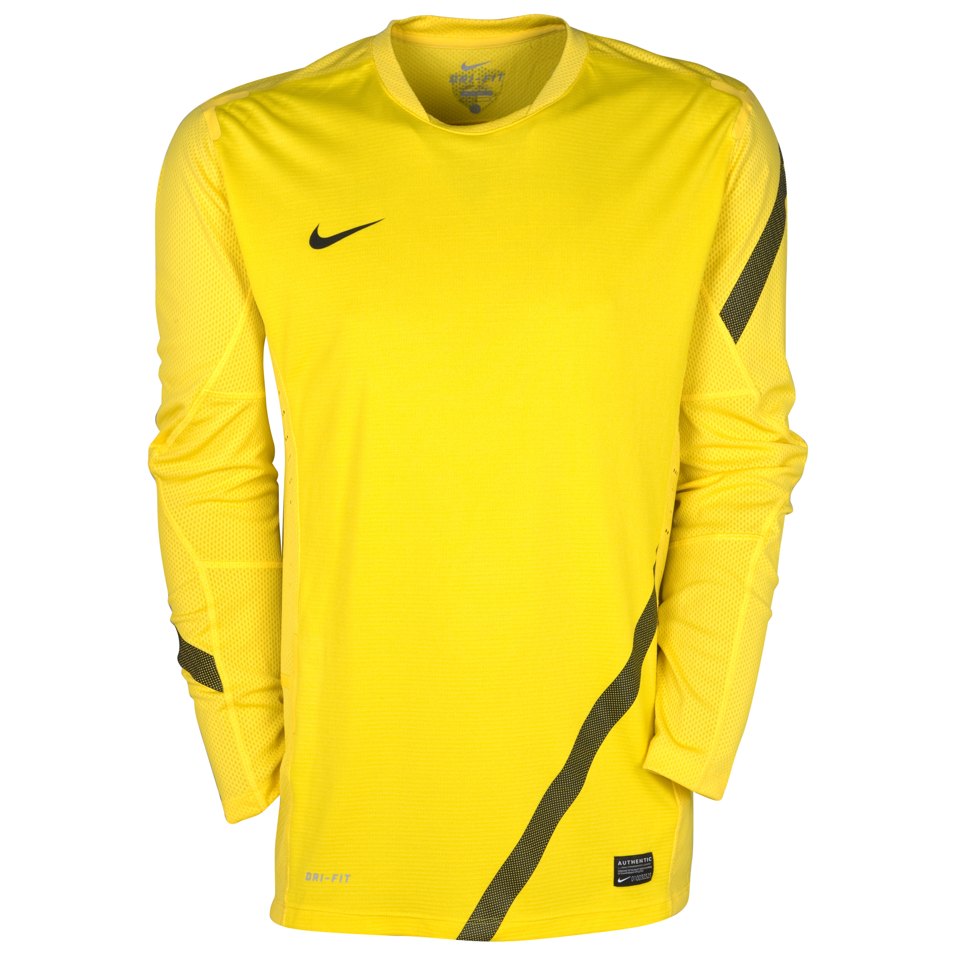 Nike Elite Training Top - Long Sleeve - Tour Yellow/Black/Black