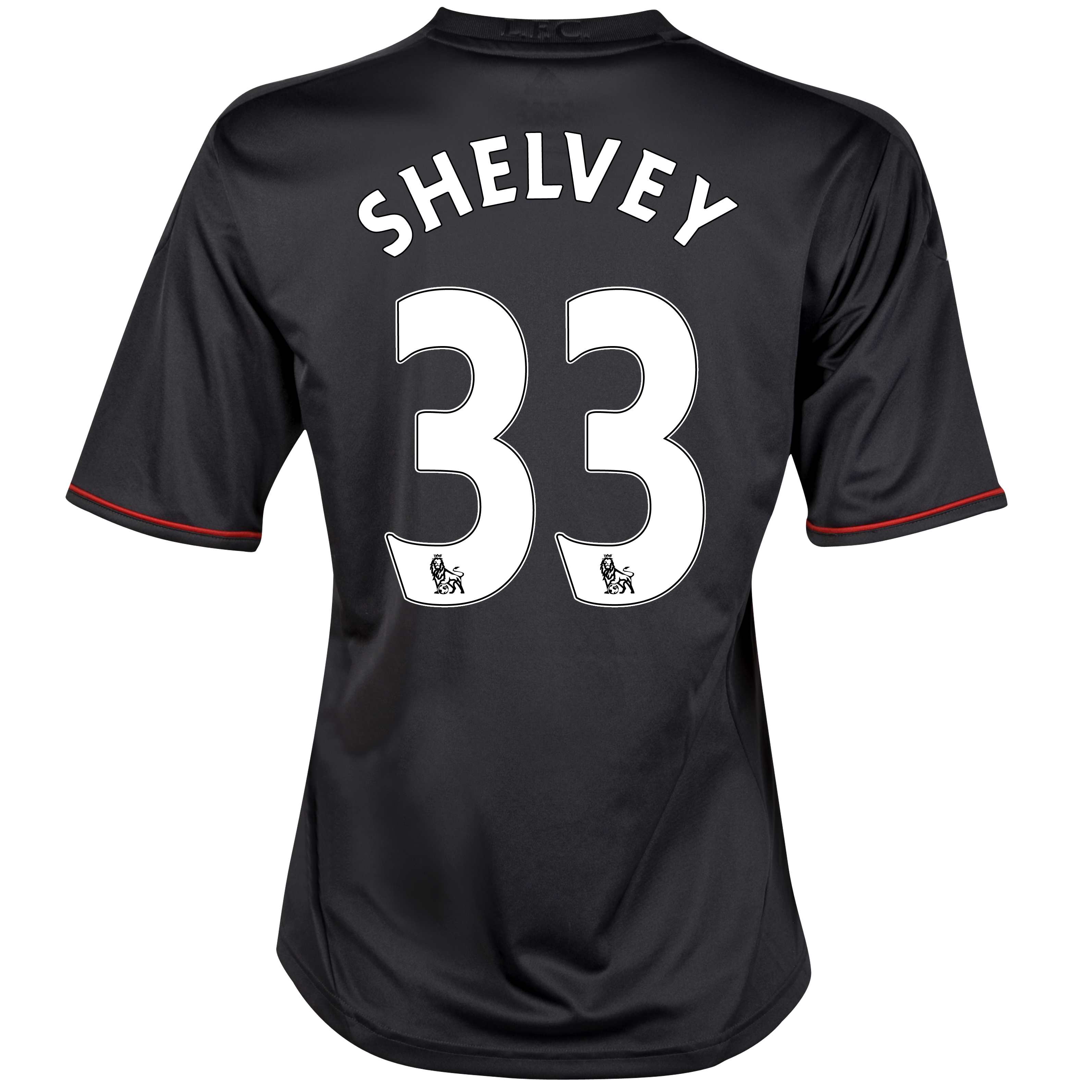 Liverpool Away Shirt 2011/12 - Womens with Shelvey 33 printing