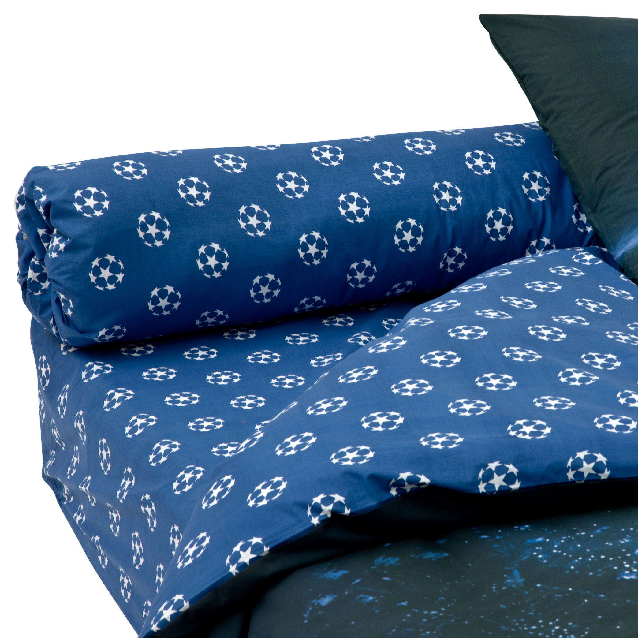 UEFA Champions League Bolster Pillow Case - 86 x 185