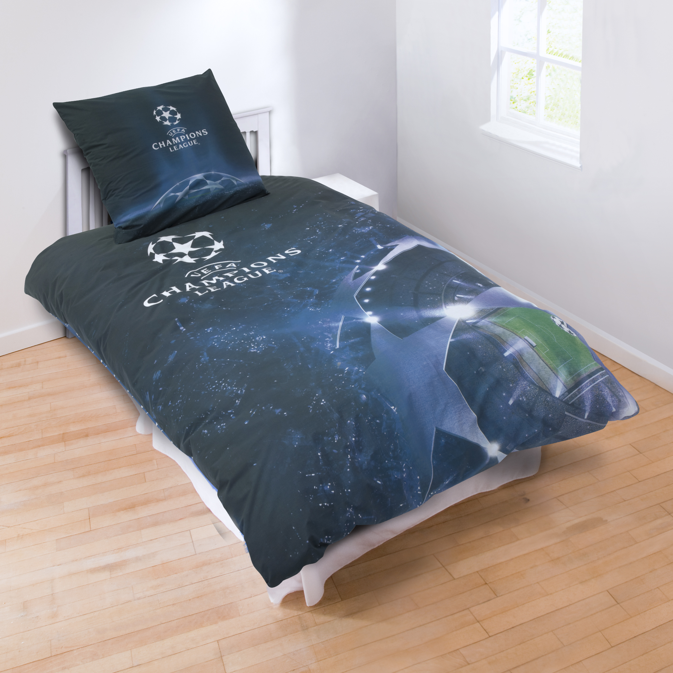 UEFA Champions League Photo Print Duvet - Single - 140 x 200