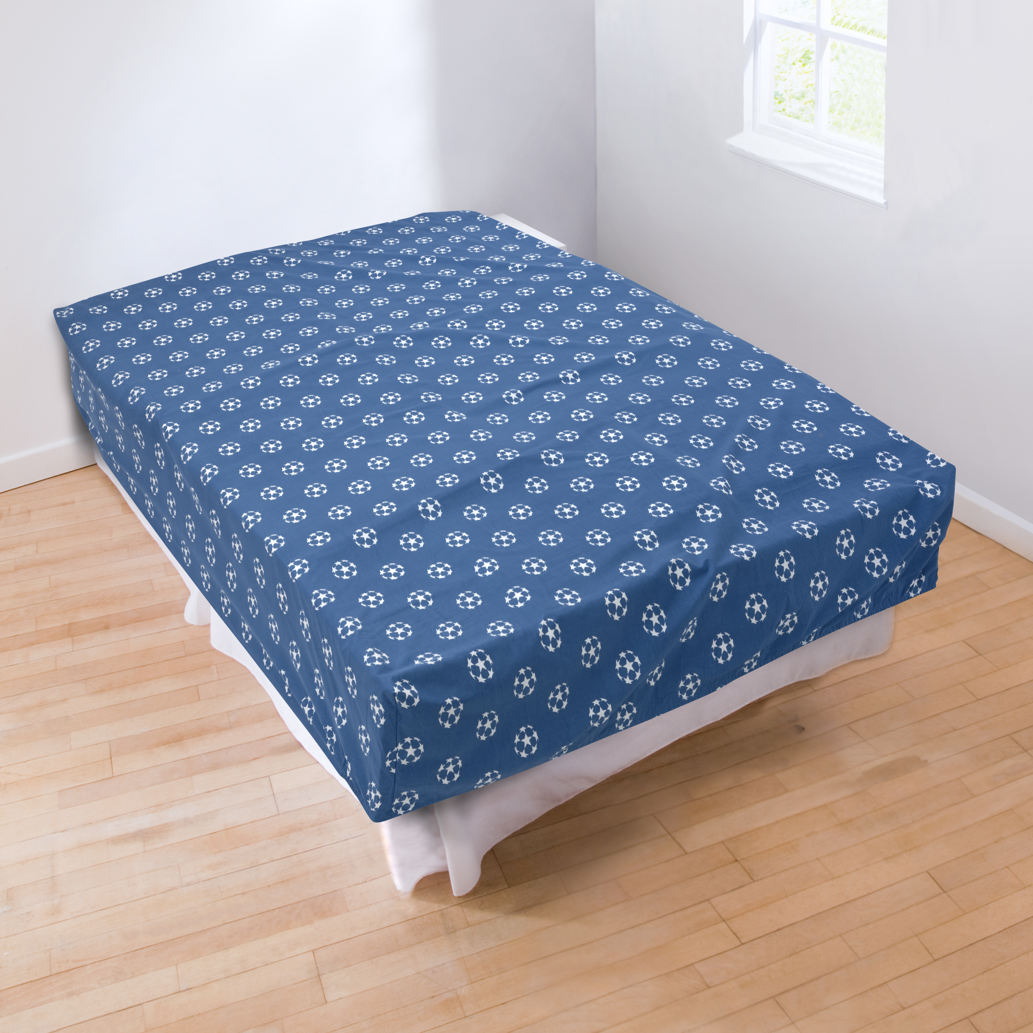 UEFA Champions League Fitted Sheet - Double - 140cm x 190cm