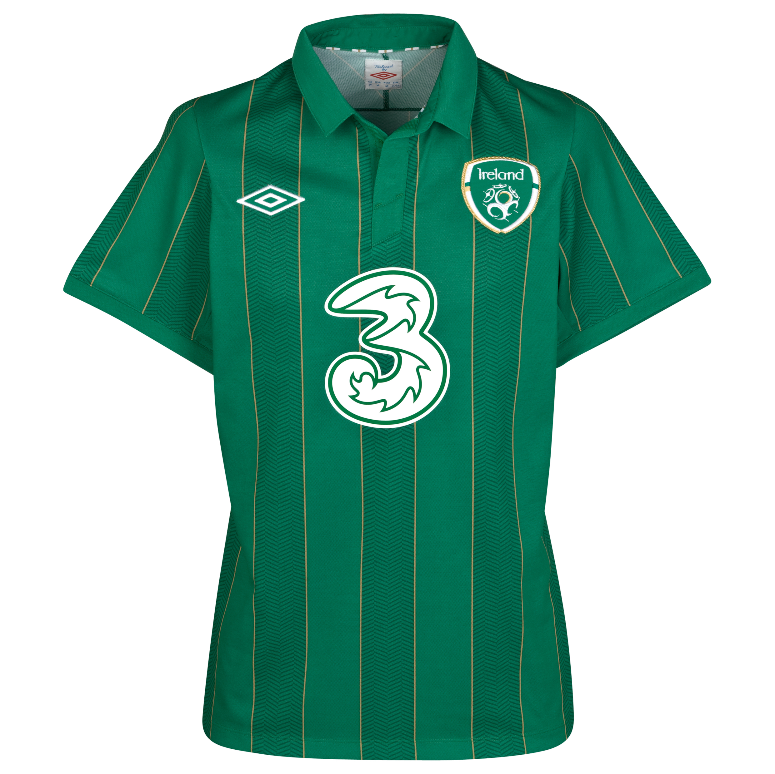 Republic Of Ireland Home Shirt 2011/12 Kids
