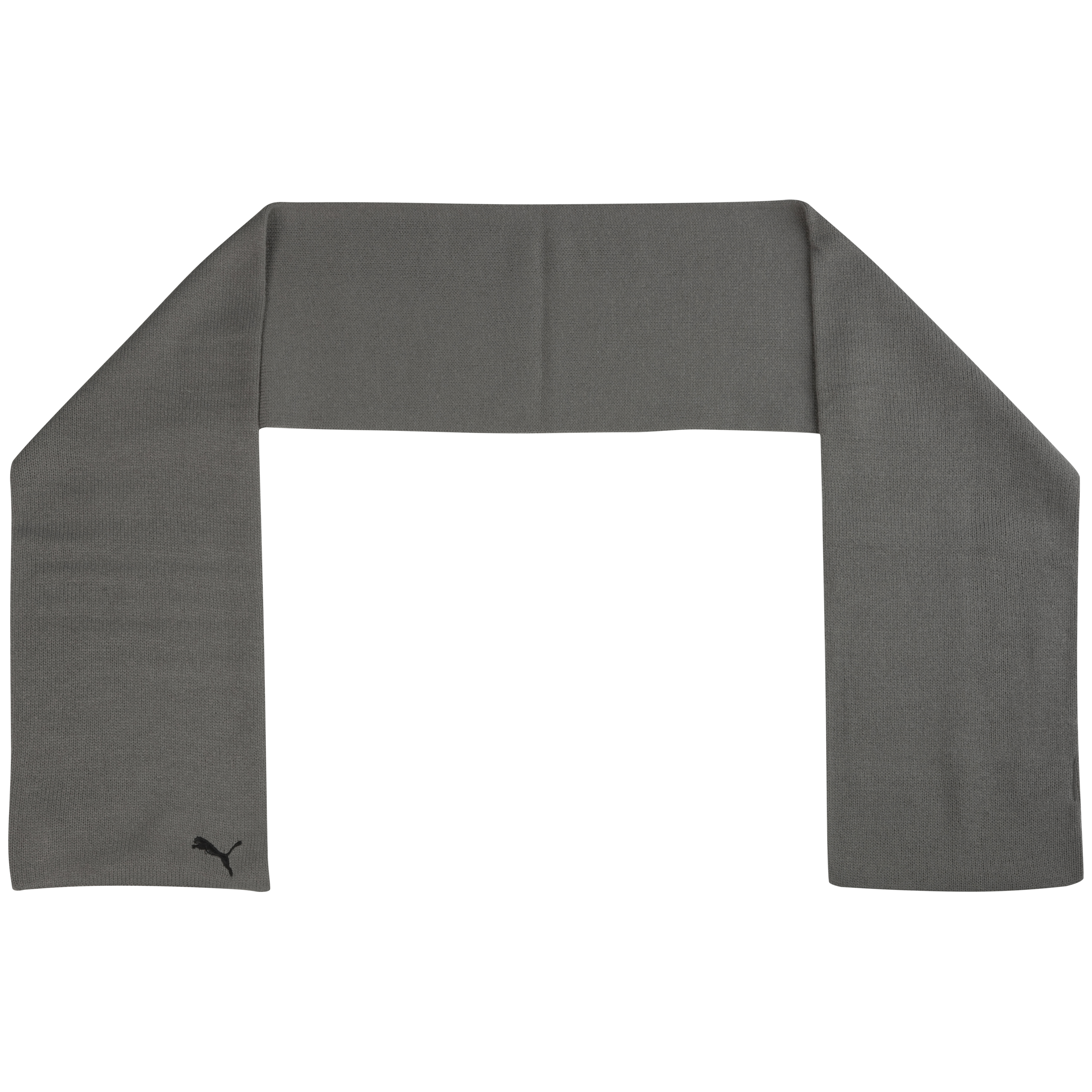 Puma Fundamentals Knit Scarf - Grey/Black