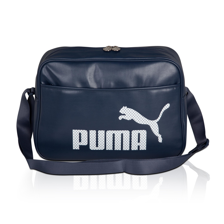 Puma Campus Reporter Bag - Mood Indigo/White. for 25€