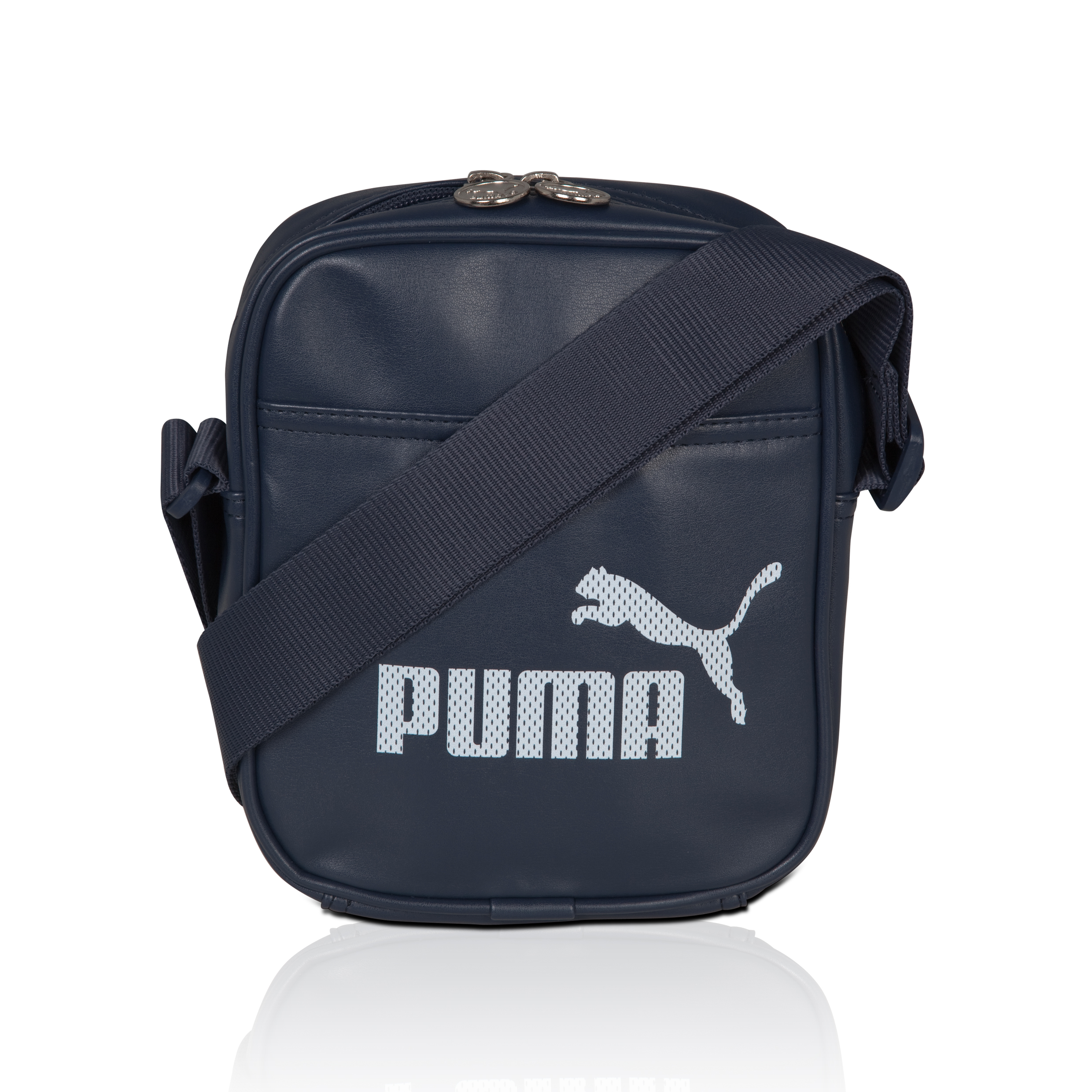 Puma Campus Portable Bag - Mood Indigo/White