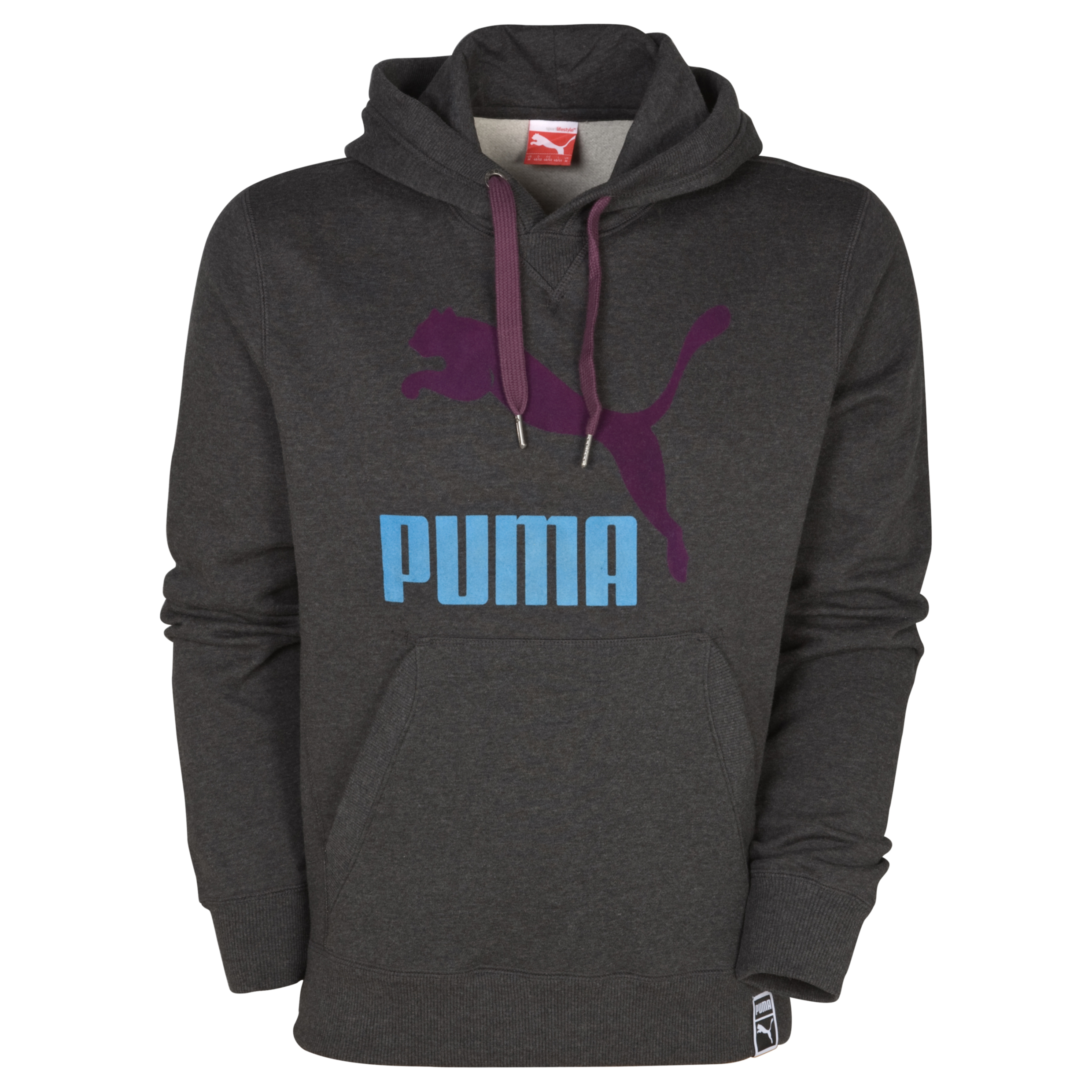 Puma Heroes OH Hooded Sweat - Dark Grey Heather
