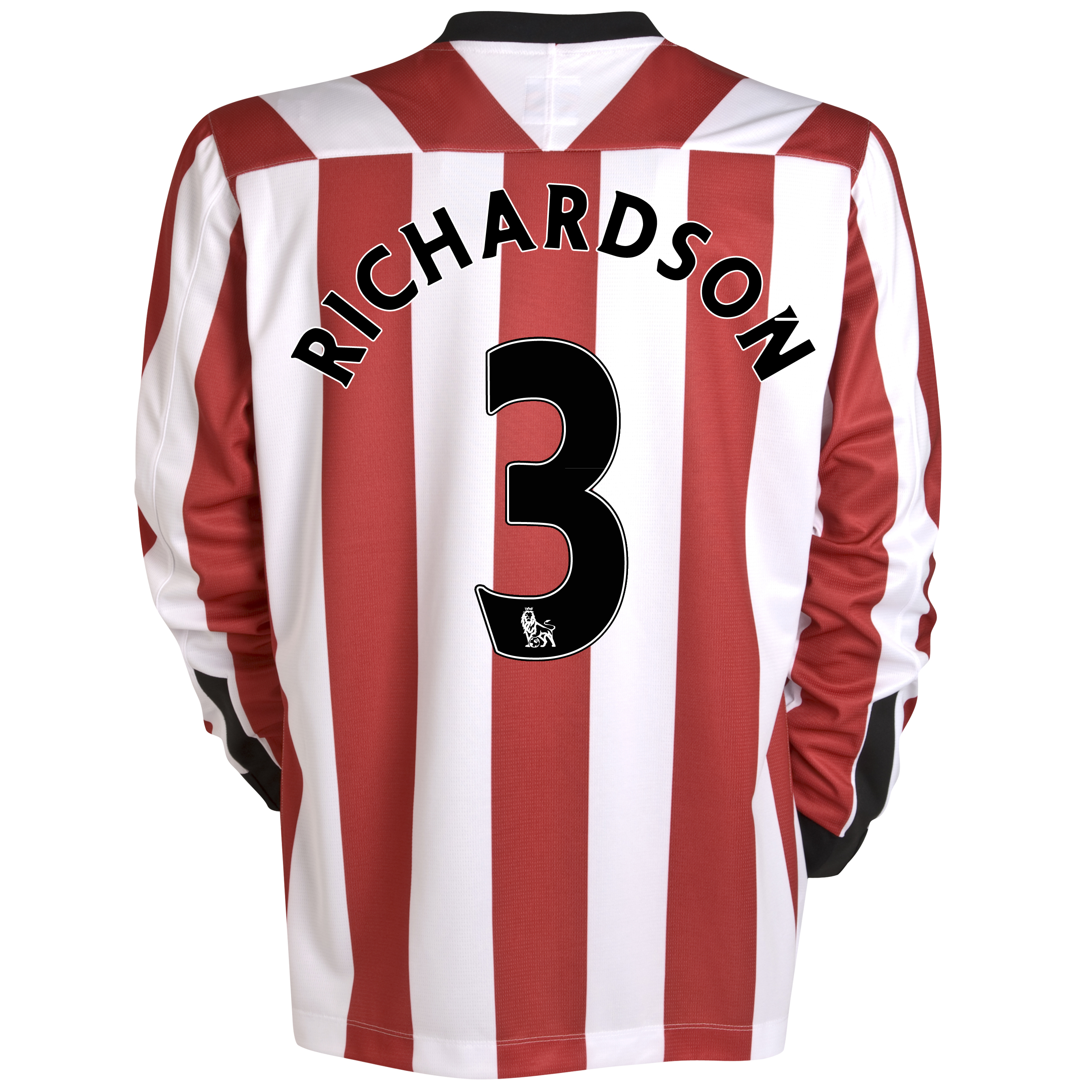 Sunderland Home Shirt 2011/12 - Long Sleeve - Kids with Richardson 11 printing