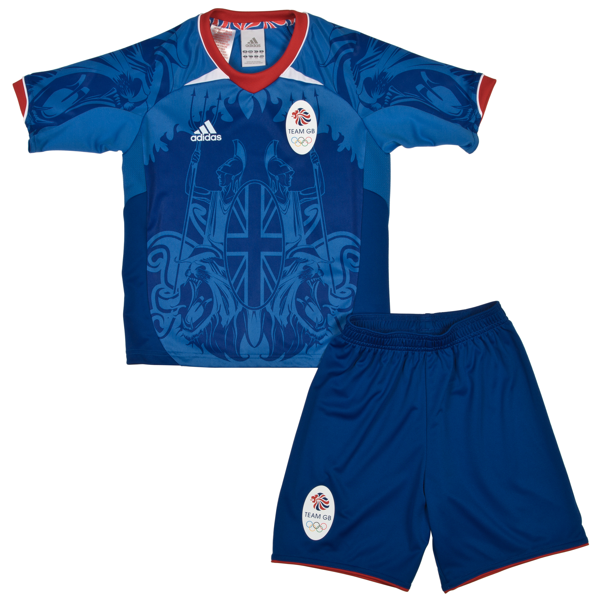 adidas Team GB Supporters Minikit Collegiate Royal / Air Force Blue / University Red