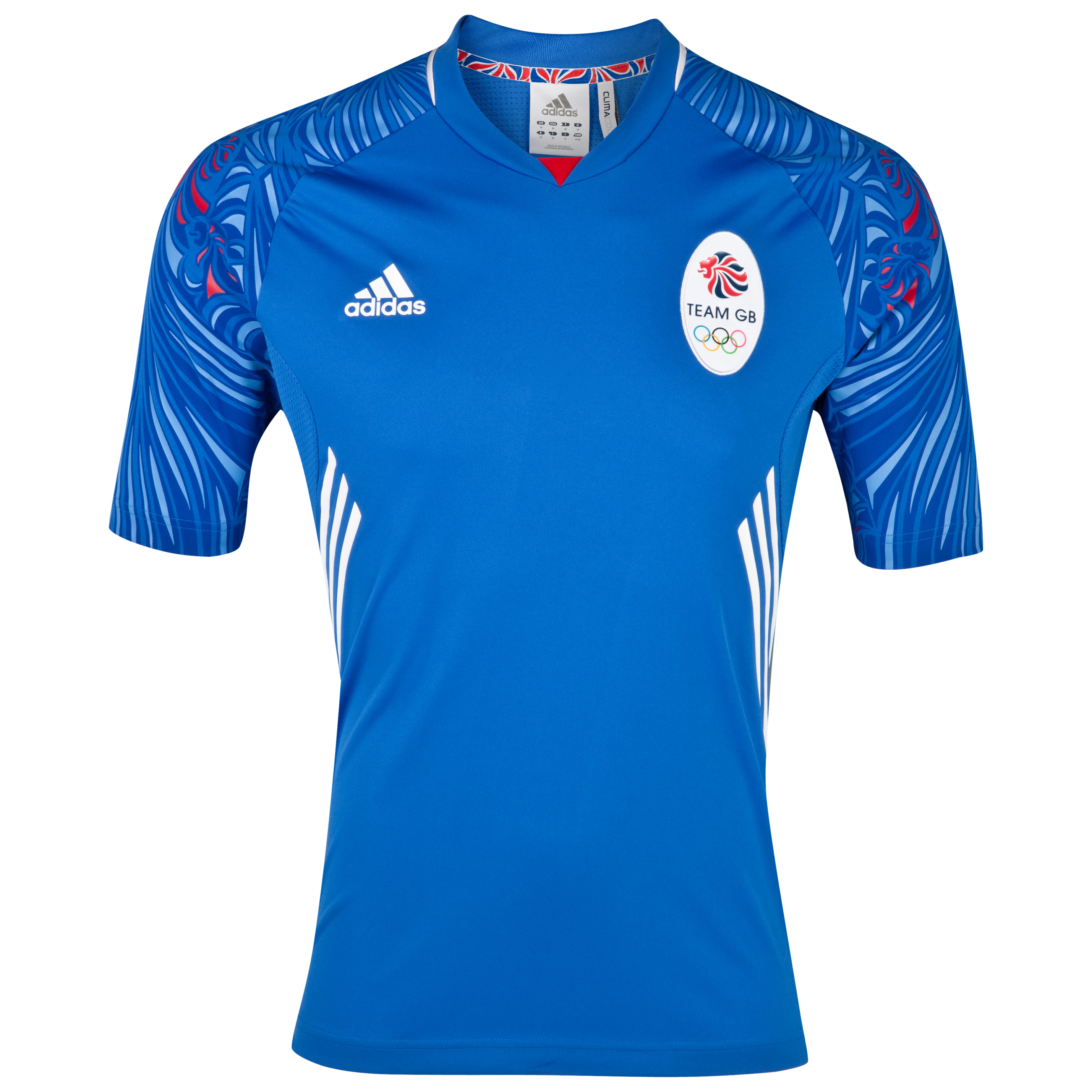adidas Team GB Icon Jersey Satellite/Collegiate Royal