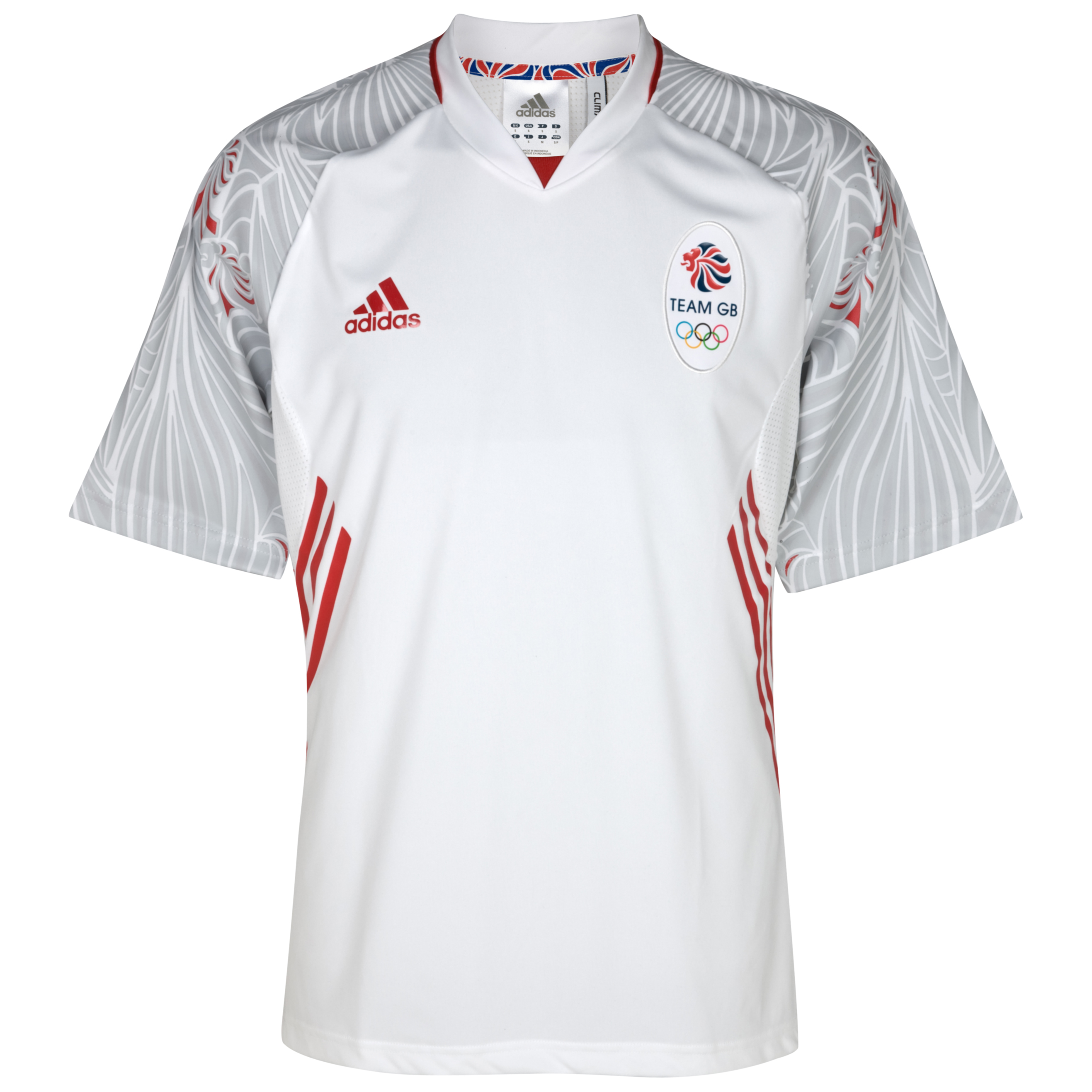 adidas Team GB Icon Jersey - White/Poppy
