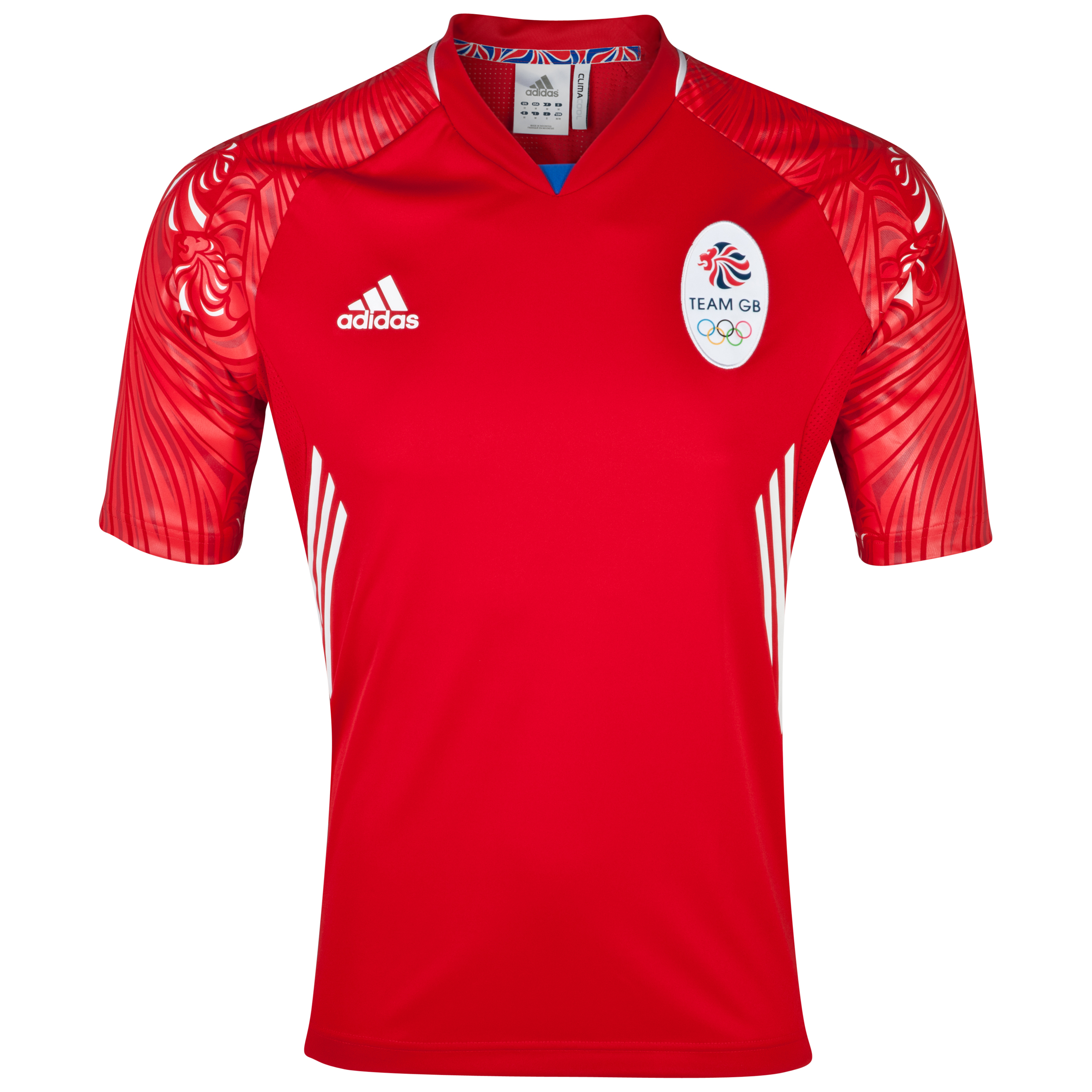 adidas Team GB Icon Jersey Light Scarlet/Light Onix