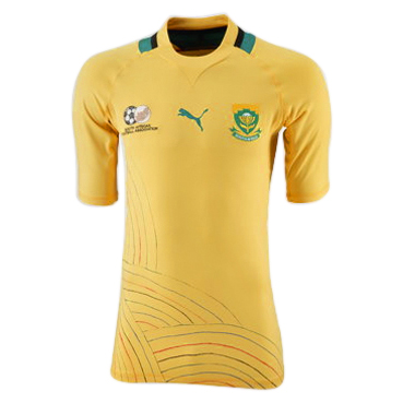 South Africa Home Shirt  2011/13 - Dandelion/Power Green