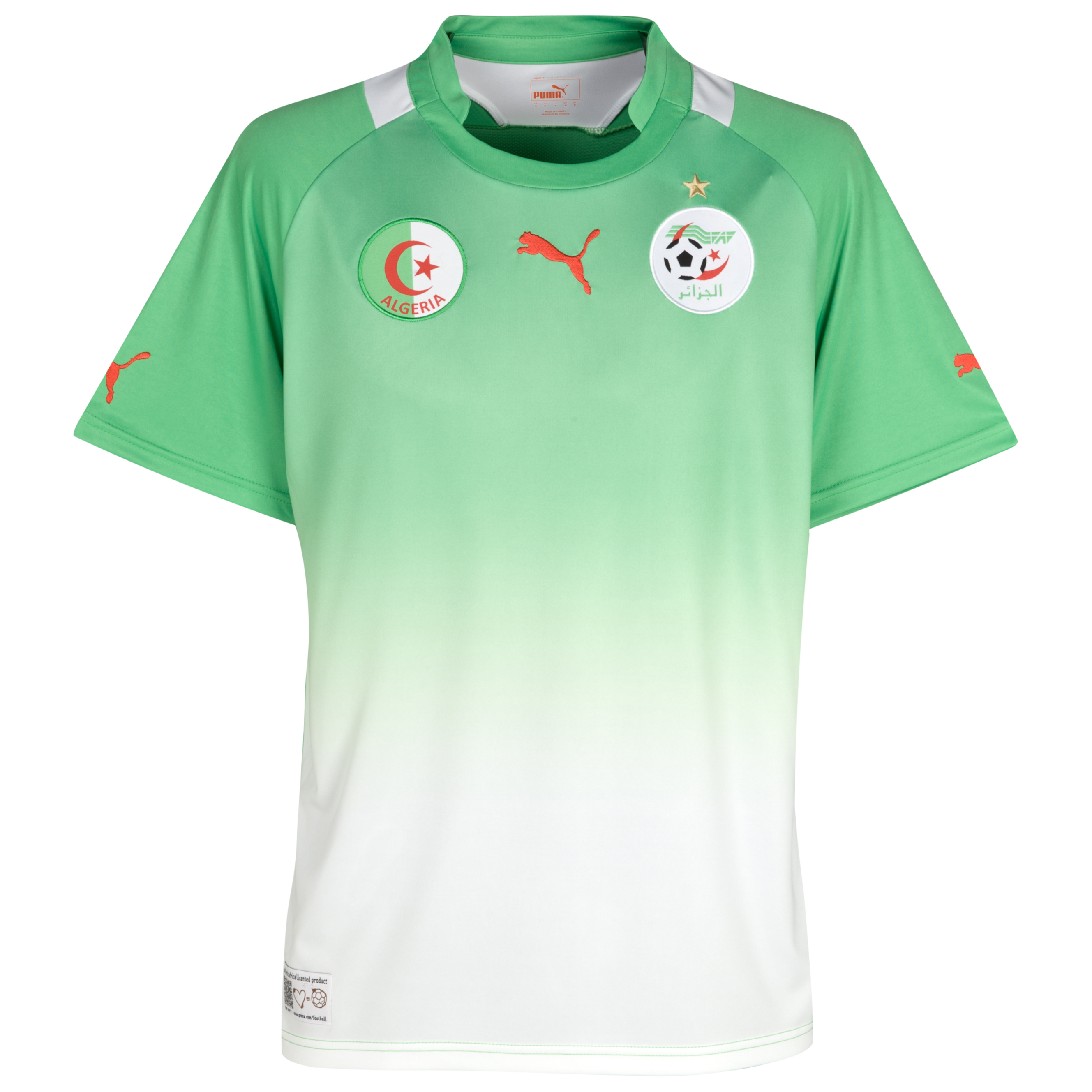 Algeria Away Shirt 2011/13 - Flash/White