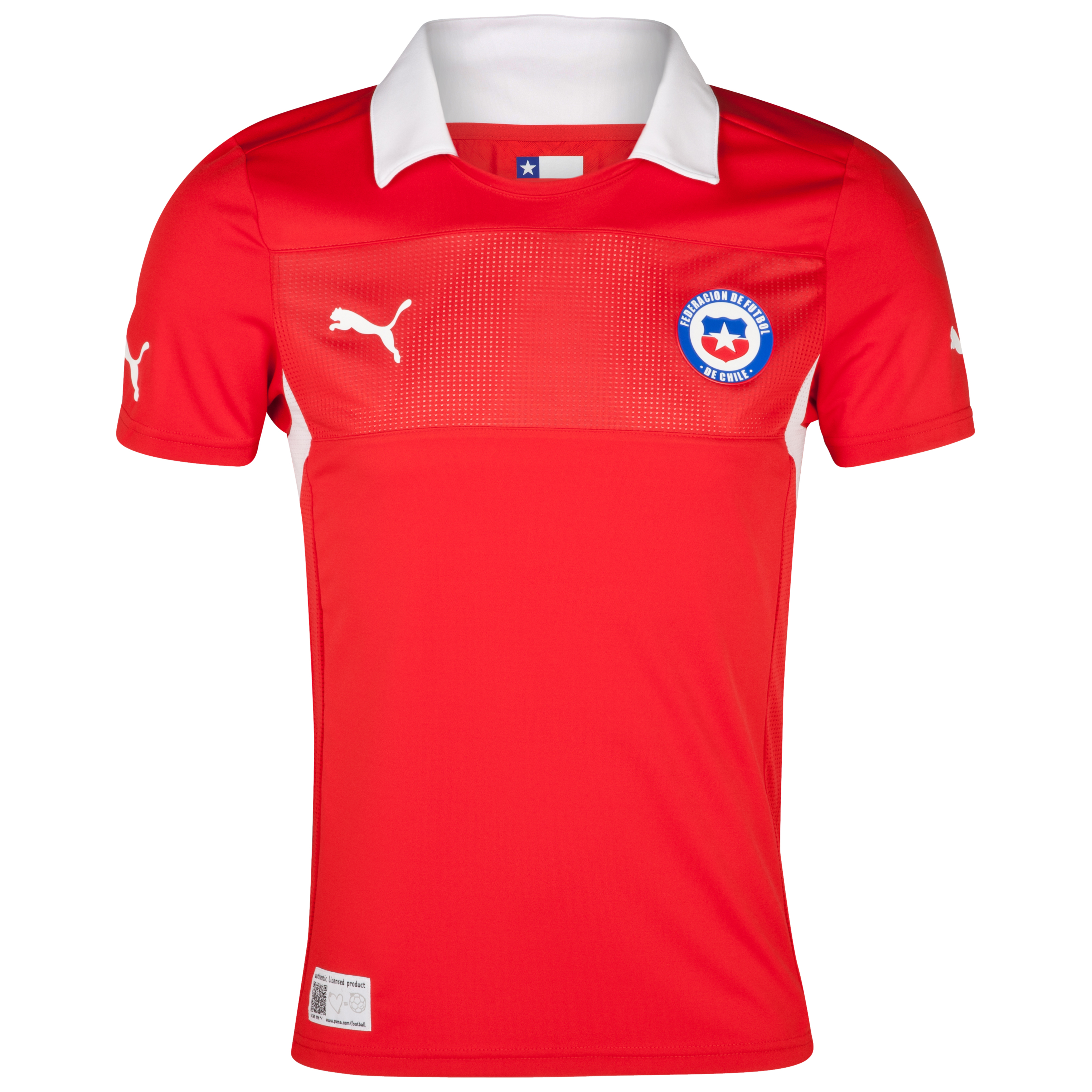 Chile Home Shirt 2011/13