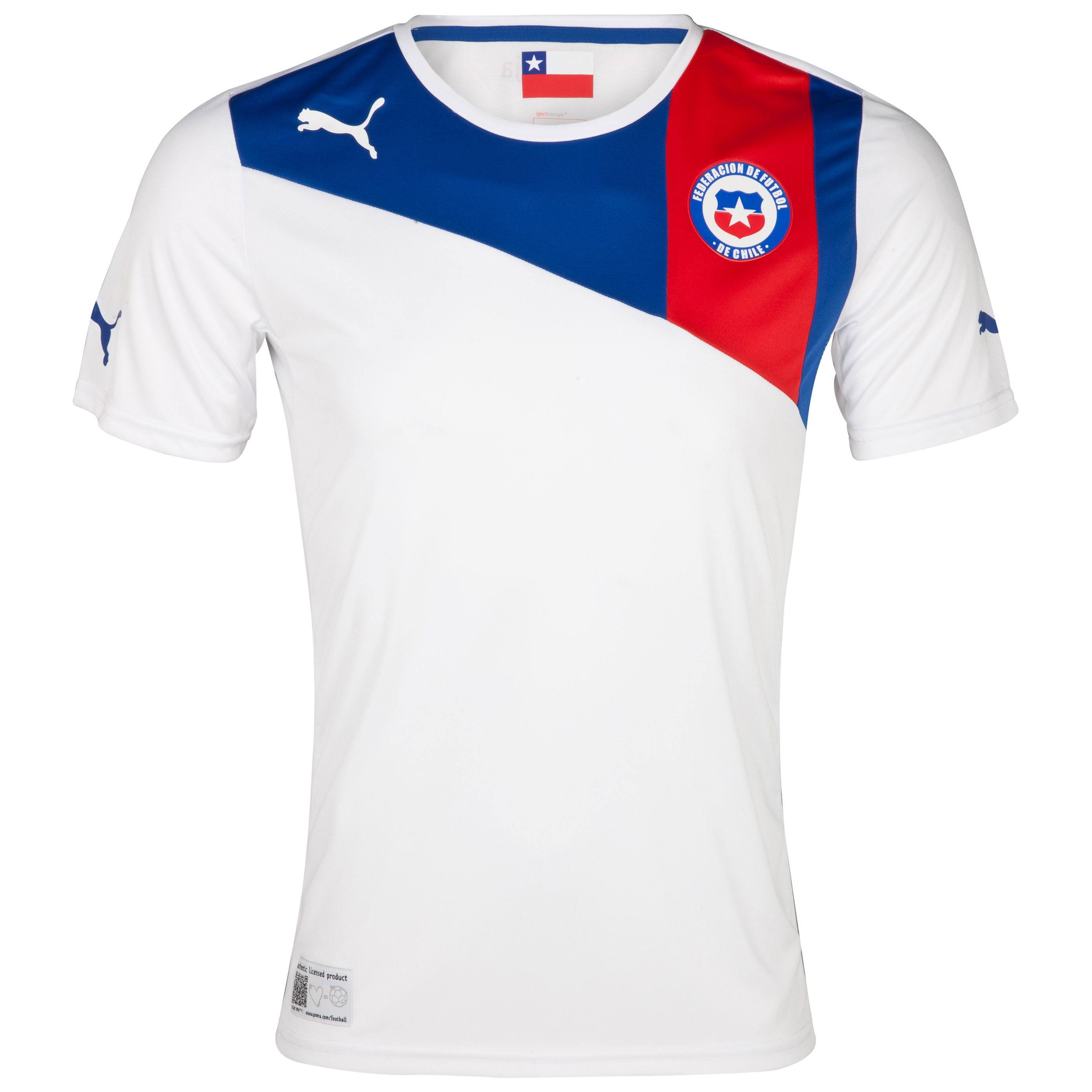 Chile Away Shirt 2011/13