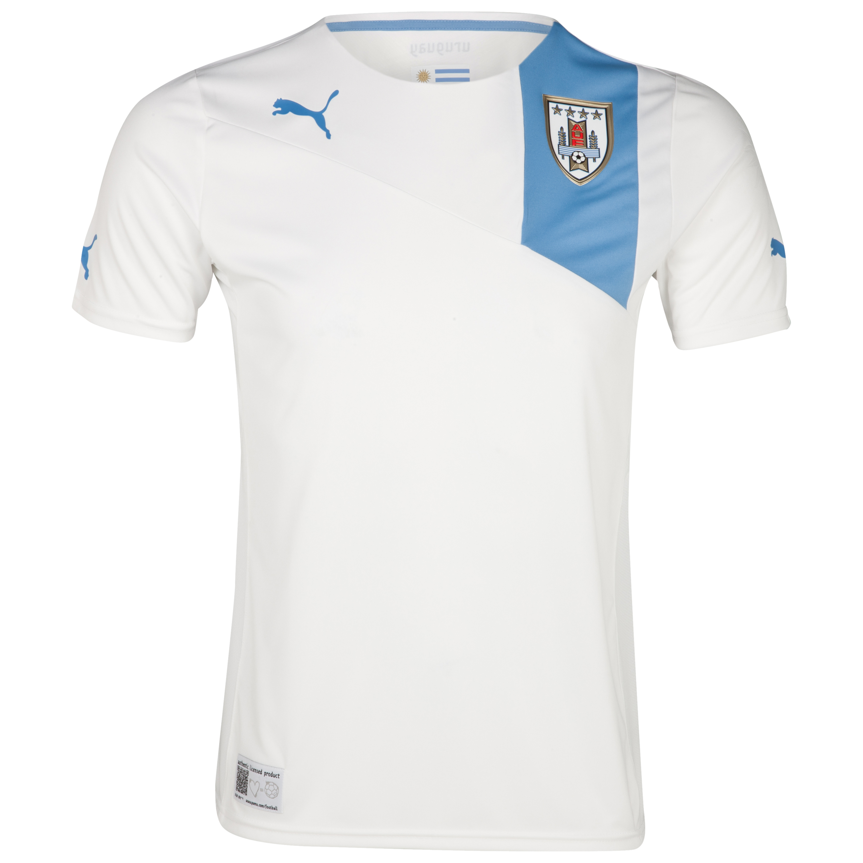 Uruguay Away Shirt 2011/13