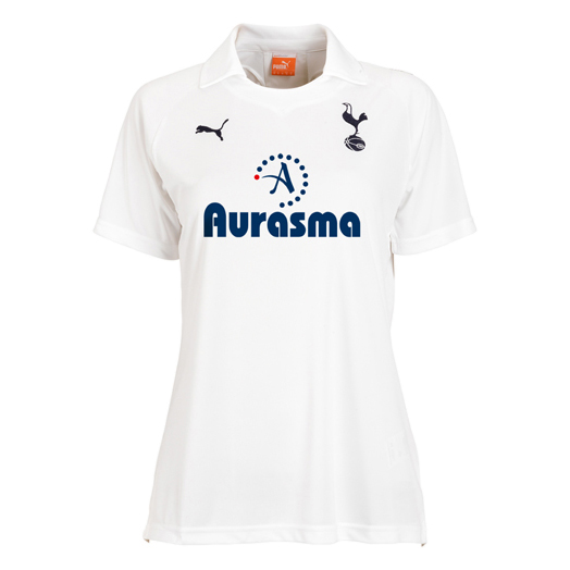Tottenham Hotspur Home Shirt 2011/12 - Womens with Huddlestone 6 printing