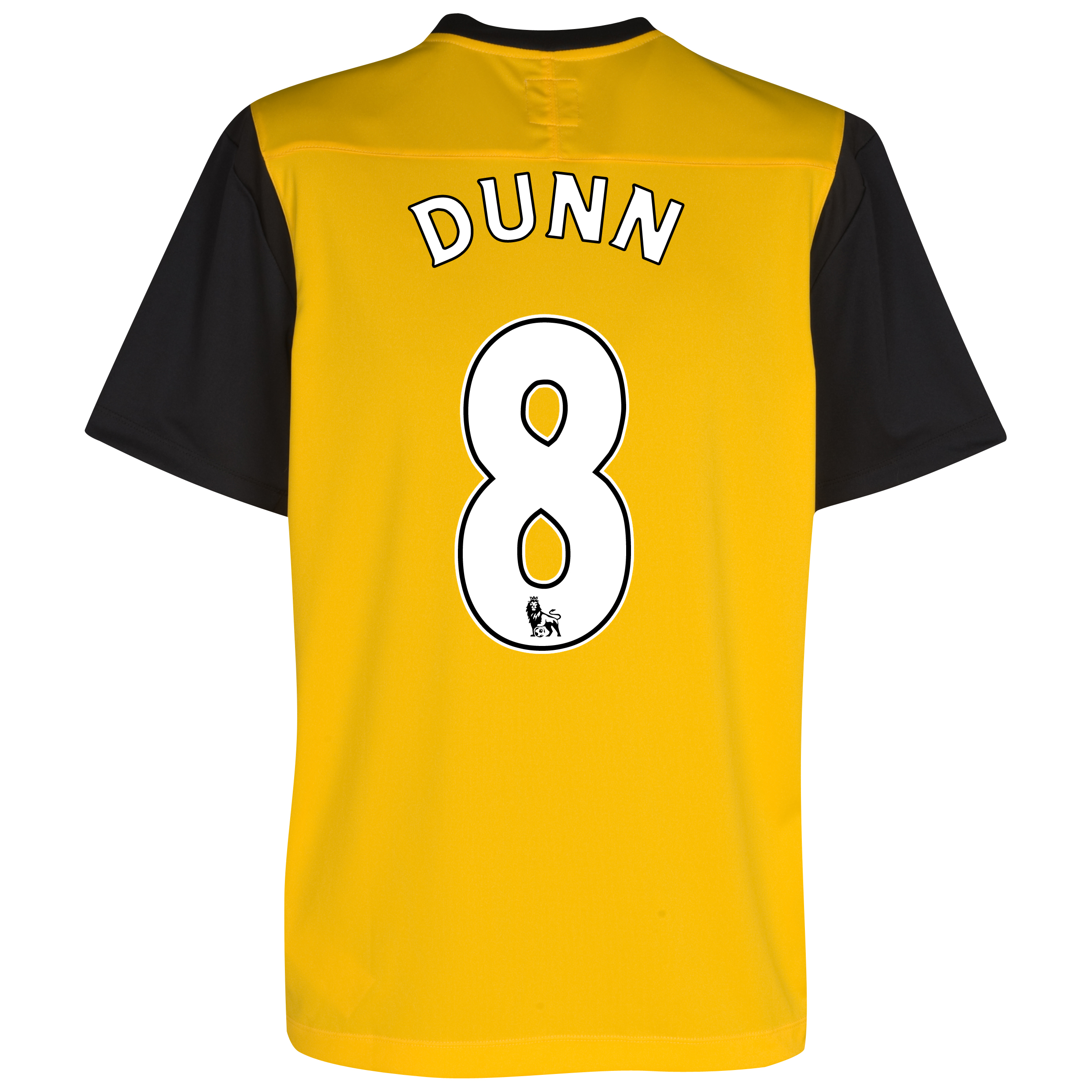 Blackburn Rovers Away Shirt 2011/12 with Dunn 8 printing