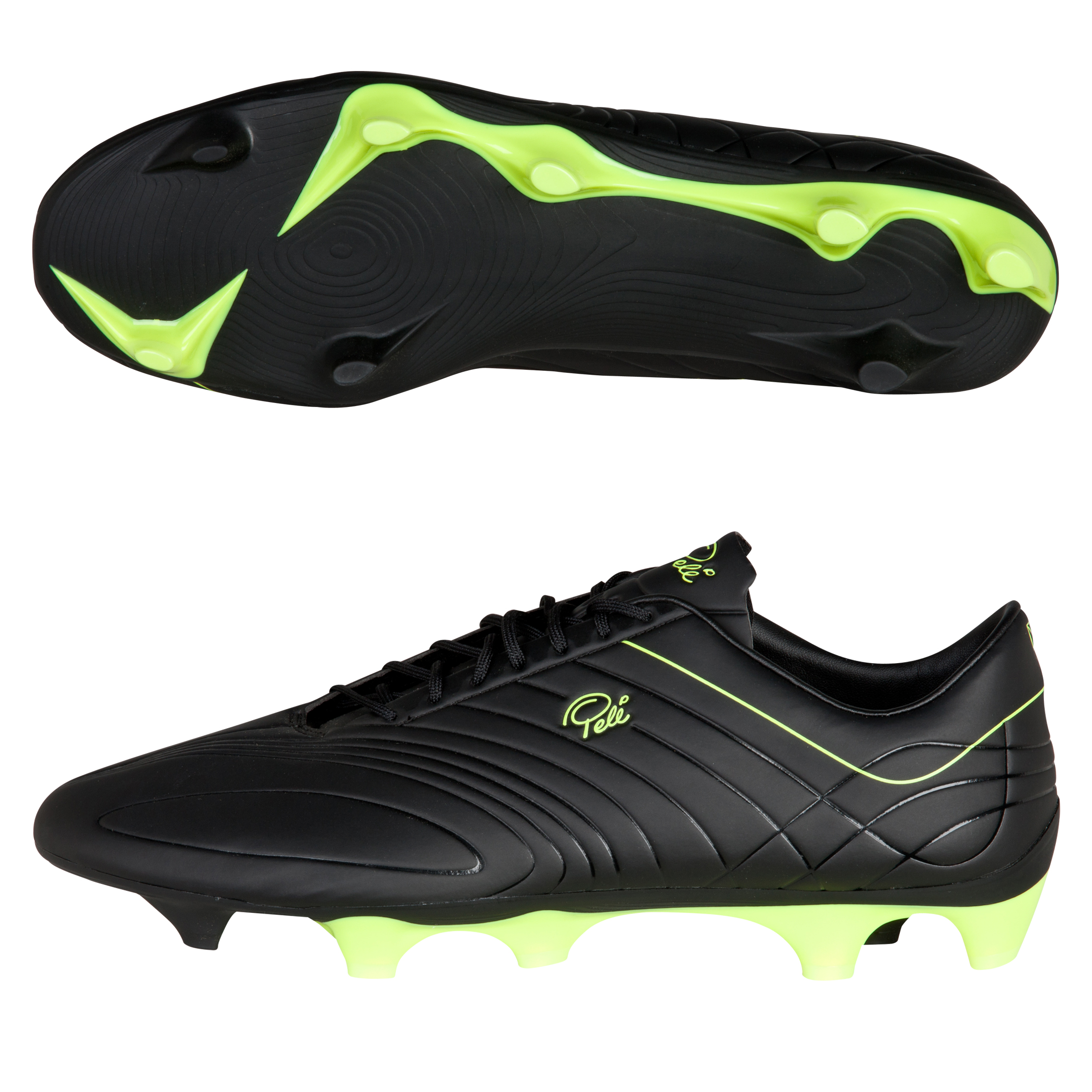 Pelé Sports Trinity 3E FG Black/Gold