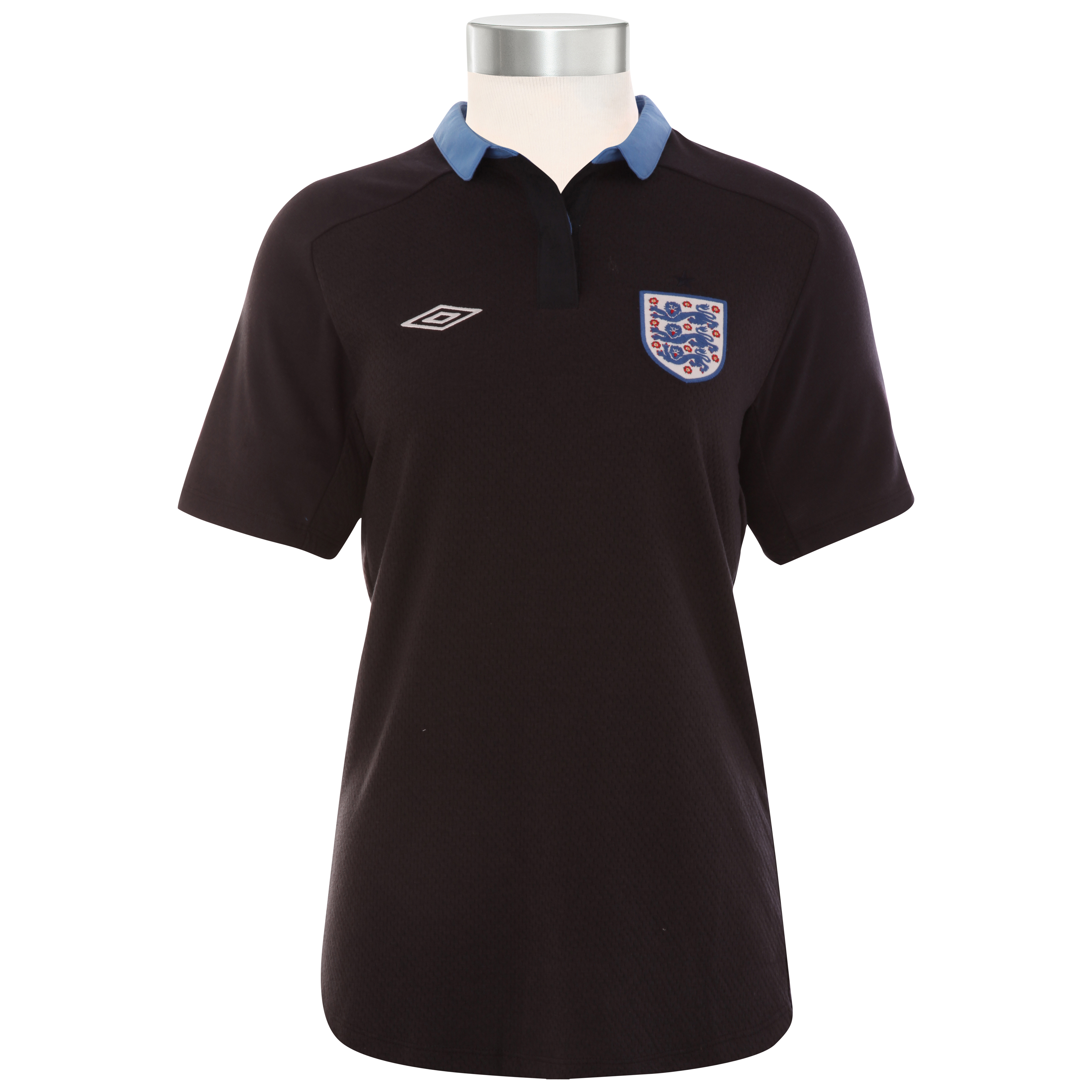 England Away Shirt 2011/12 - Womens with Barry 8 printing