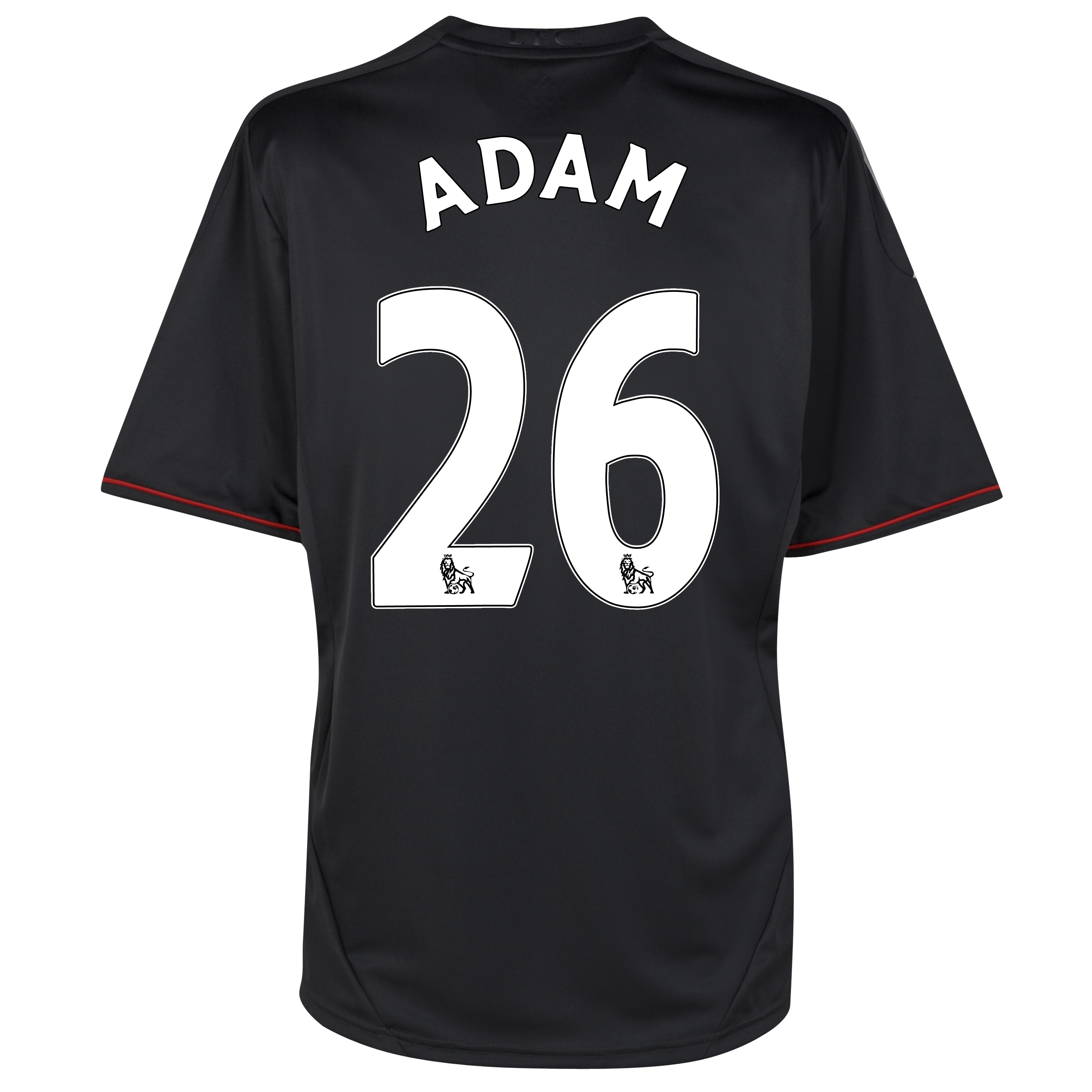 Liverpool Away Shirt 2011/12 - Kids with Adam 26 printing