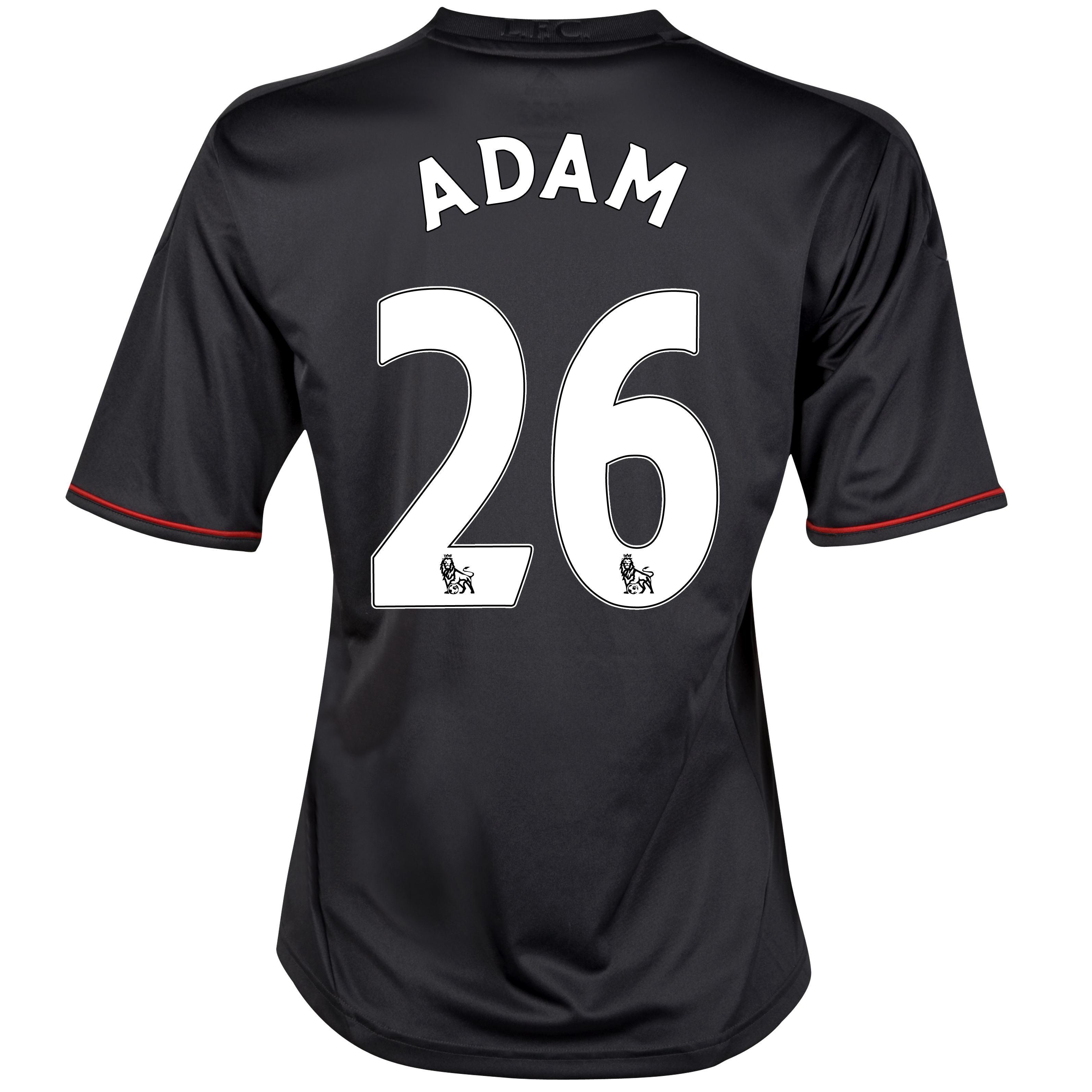 Liverpool Away Shirt 2011/12 - Womens with Adam 26 printing