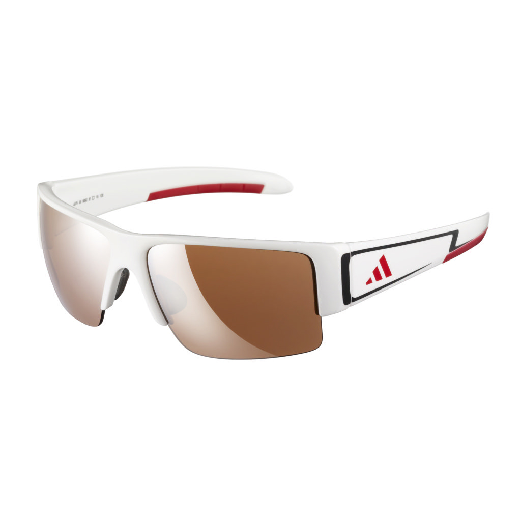 adidas Retego Sunglasses - Red/White