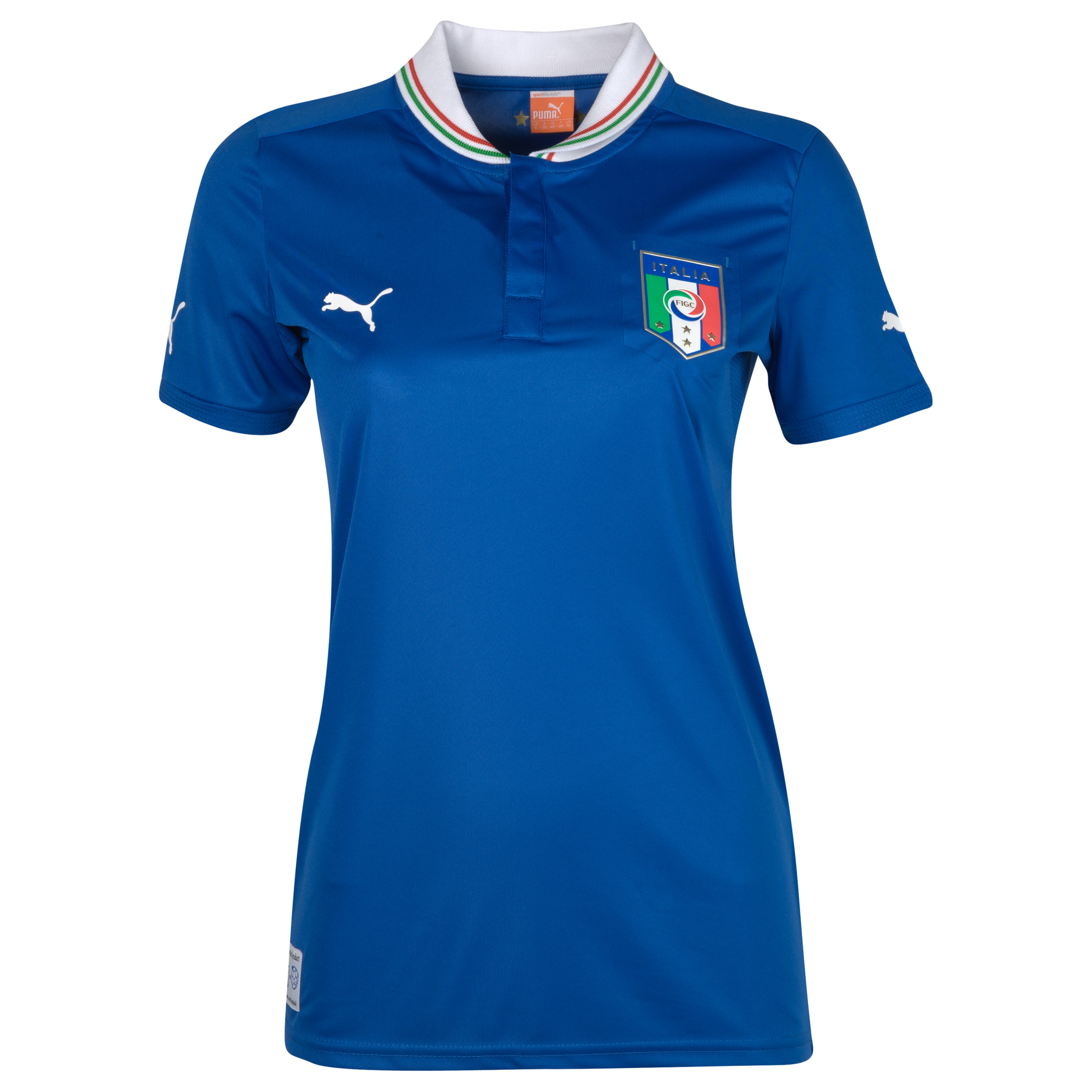 Italy Home Shirt 2011/13 Womens