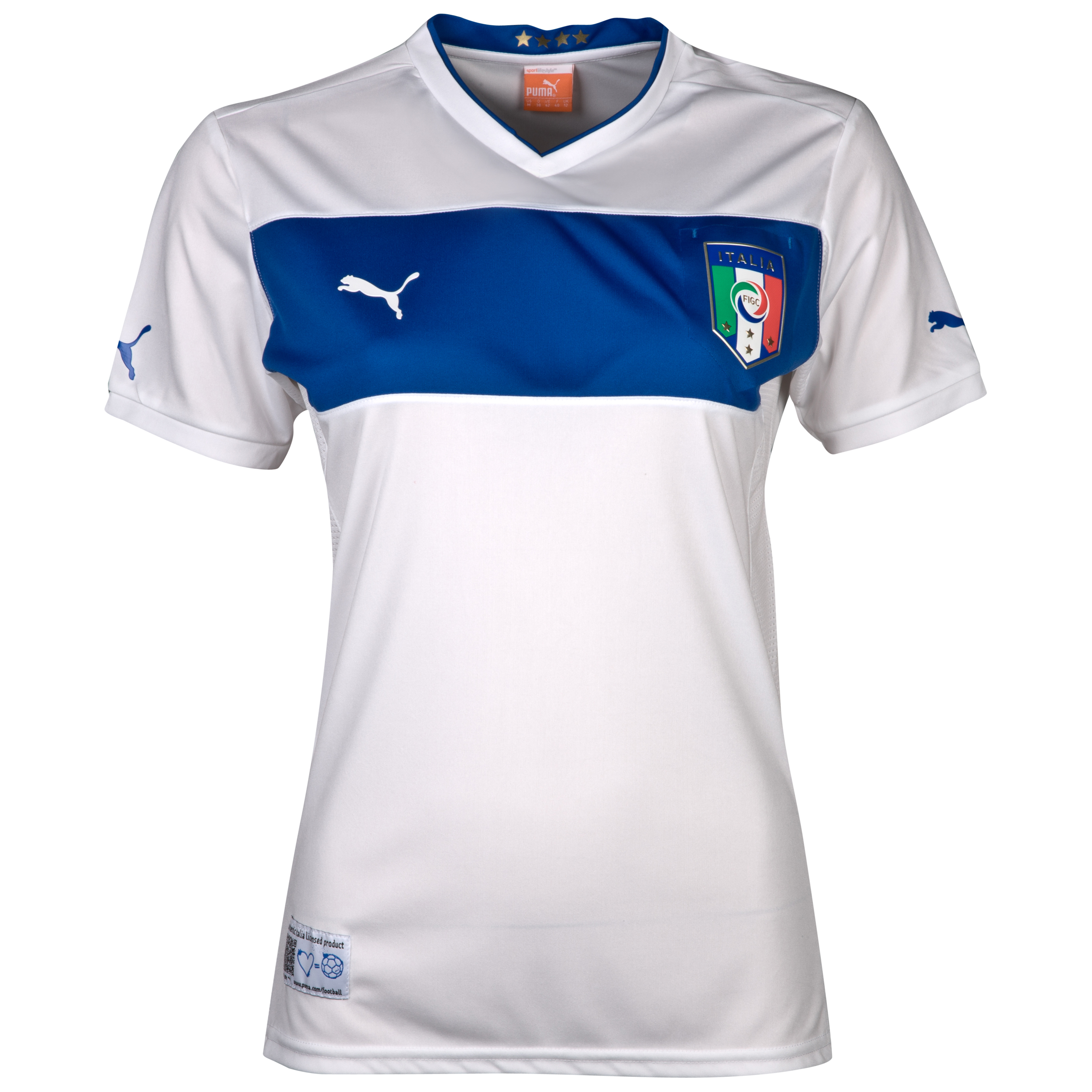 Italy Away Shirt 2012/13 Womens