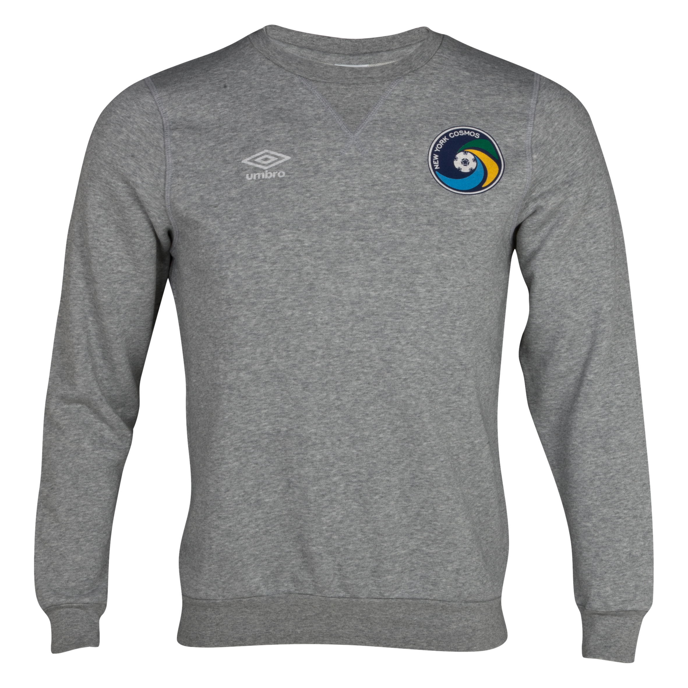 New York Cosmos Vintage Sweat Top - Grey Marl