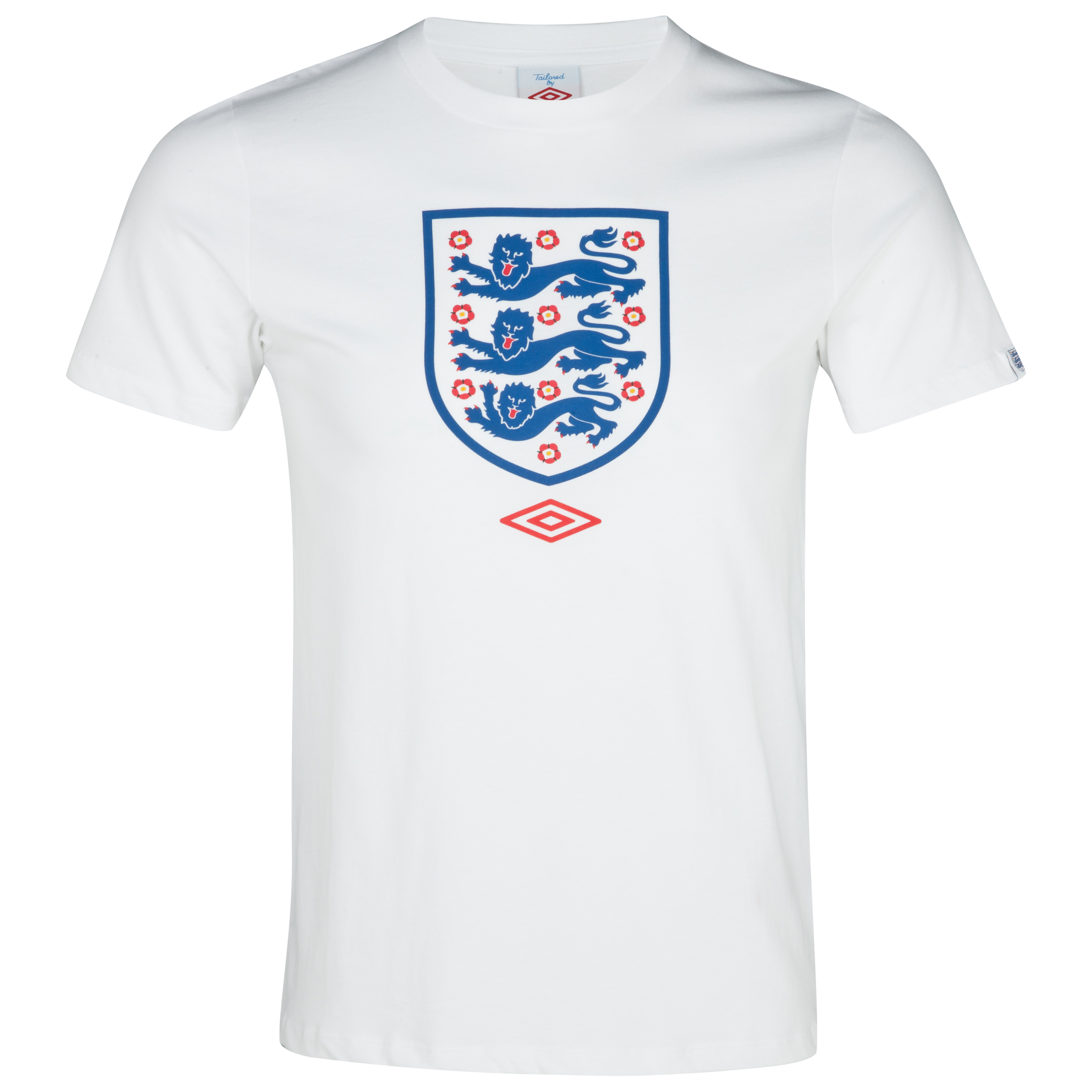 England Supporter Graphic T-Shirt - White - Boys